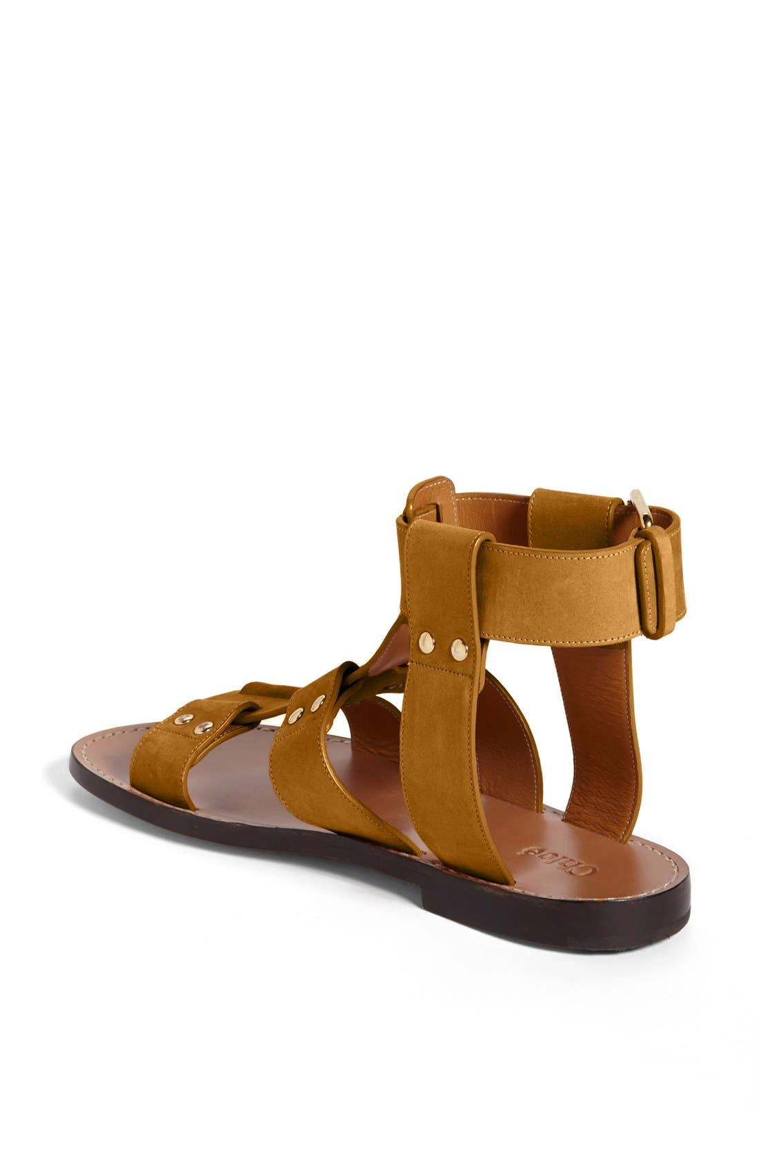 Alternate Image 2  - Chloé 'Alaska' Flat Gladiator Sandal