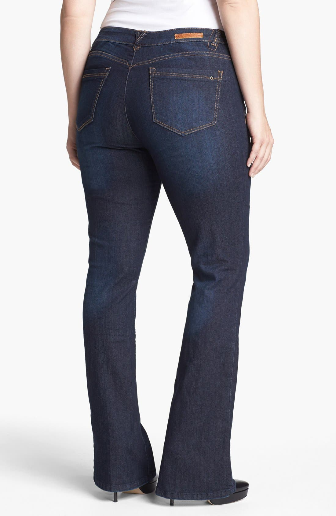Alternate Image 2  - Wit & Wisdom 'Itty Bitty' Bootcut Jeans (Plus Size) (Nordstrom Exclusive)