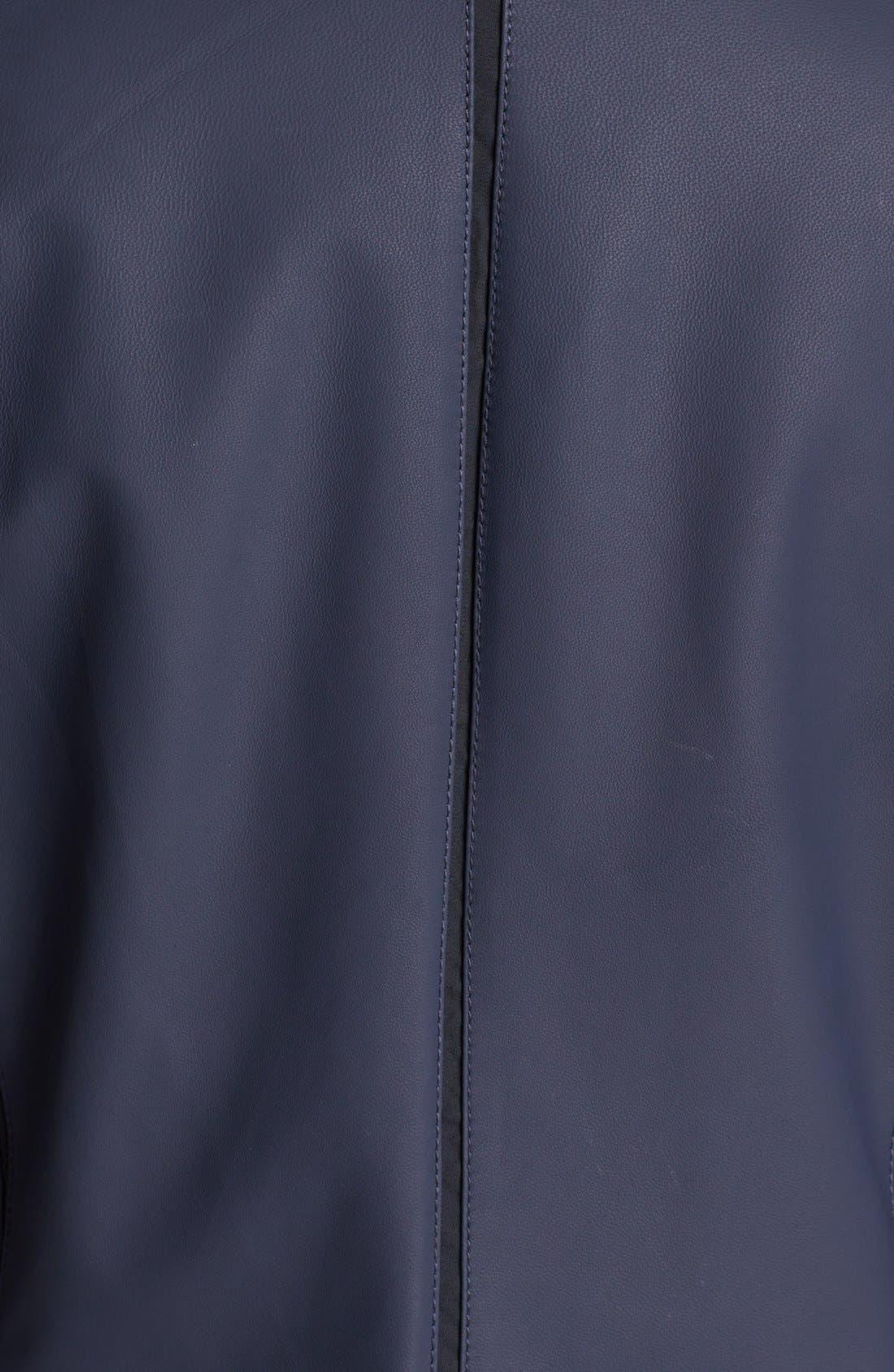 Alternate Image 3  - Lafayette 148 New York 'Trula' Lambskin Leather Jacket (Plus Size)
