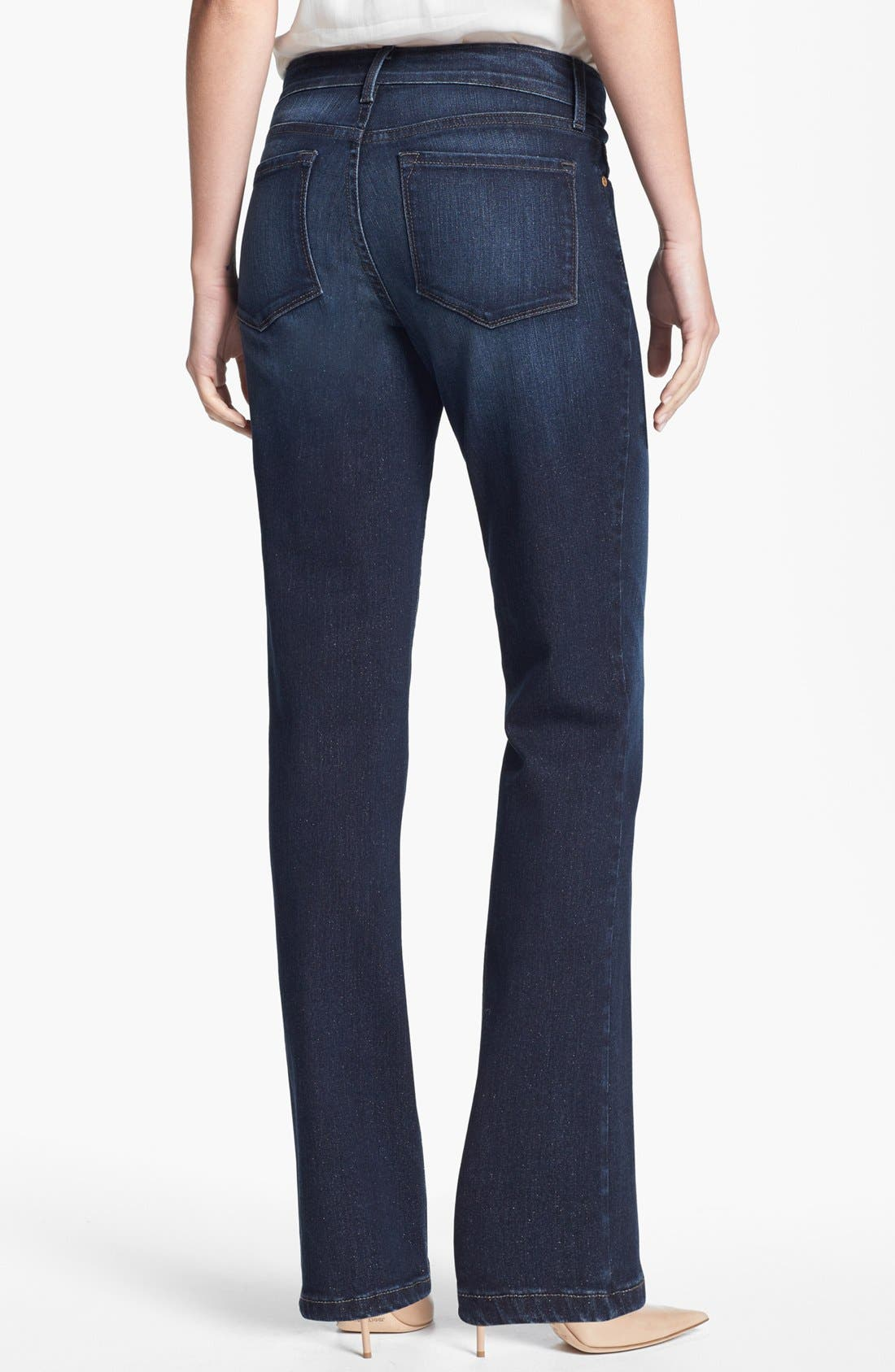 Alternate Image 2  - NYDJ 'Marilyn' Stretch Straight Leg Jeans (Encino)