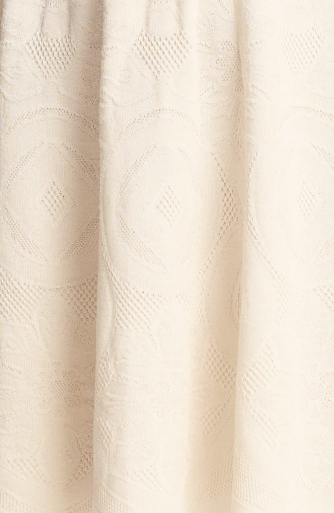 Alternate Image 3  - Alexander McQueen Full Skirt Jacquard Knit Dress