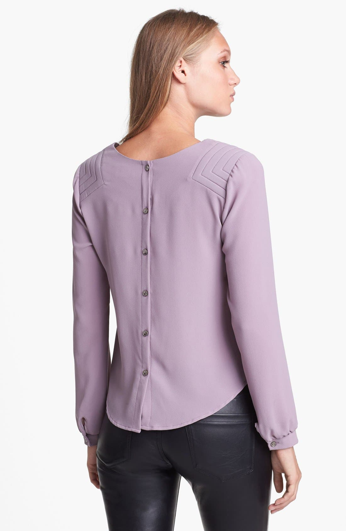 Alternate Image 2  - ASTR Button Back Blouse