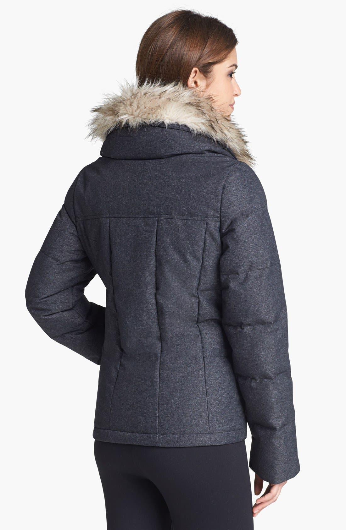Alternate Image 2  - prAna 'Jasmine' Faux Fur Down Jacket