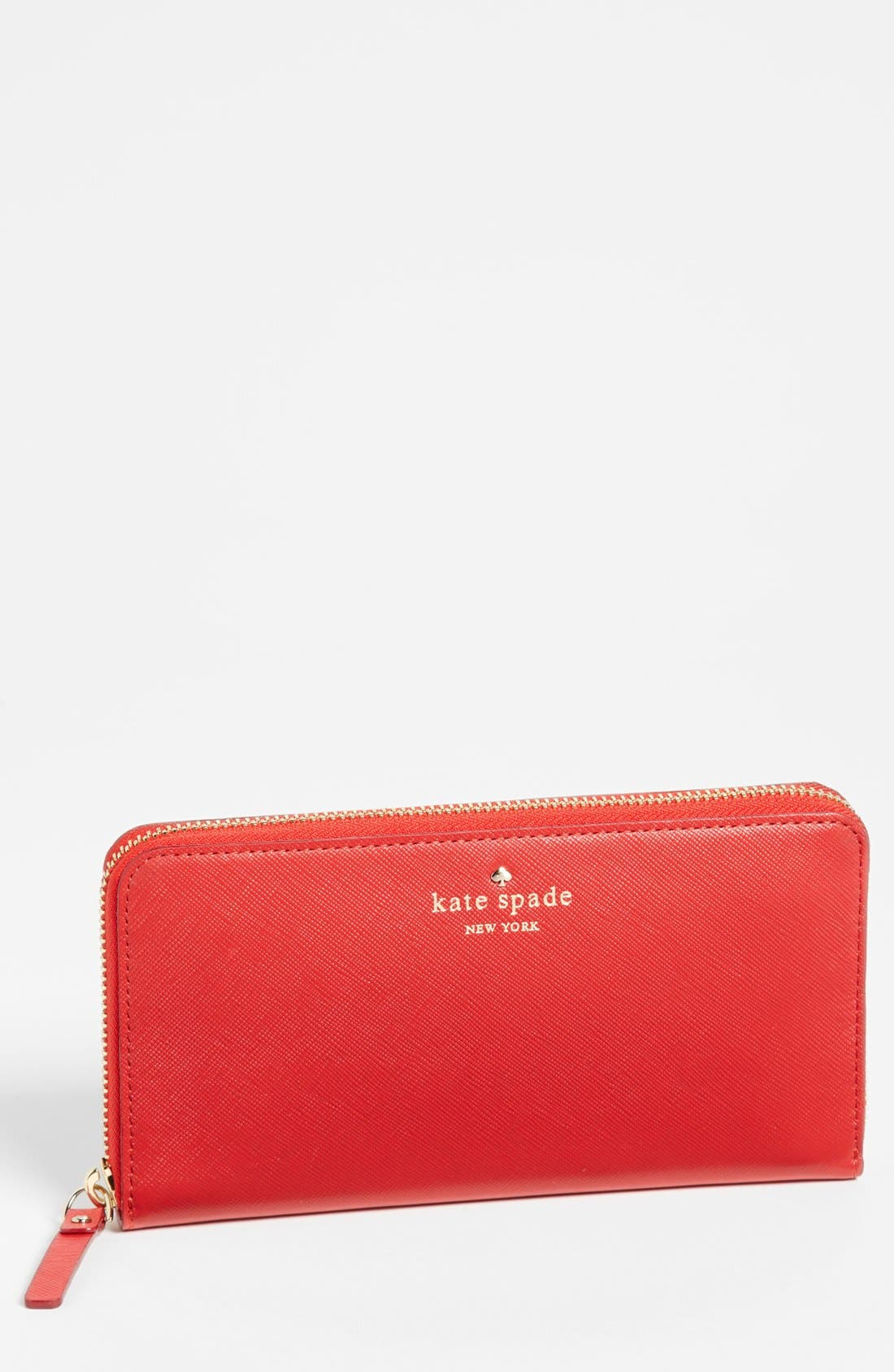 Alternate Image 1 Selected - kate spade new york 'mikas pond - lacey' zip around wallet