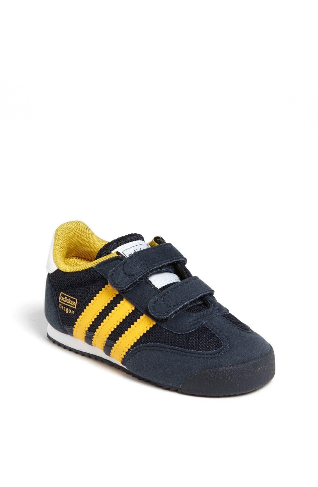 adidas 'Dragon' Sneaker (Baby, Walker