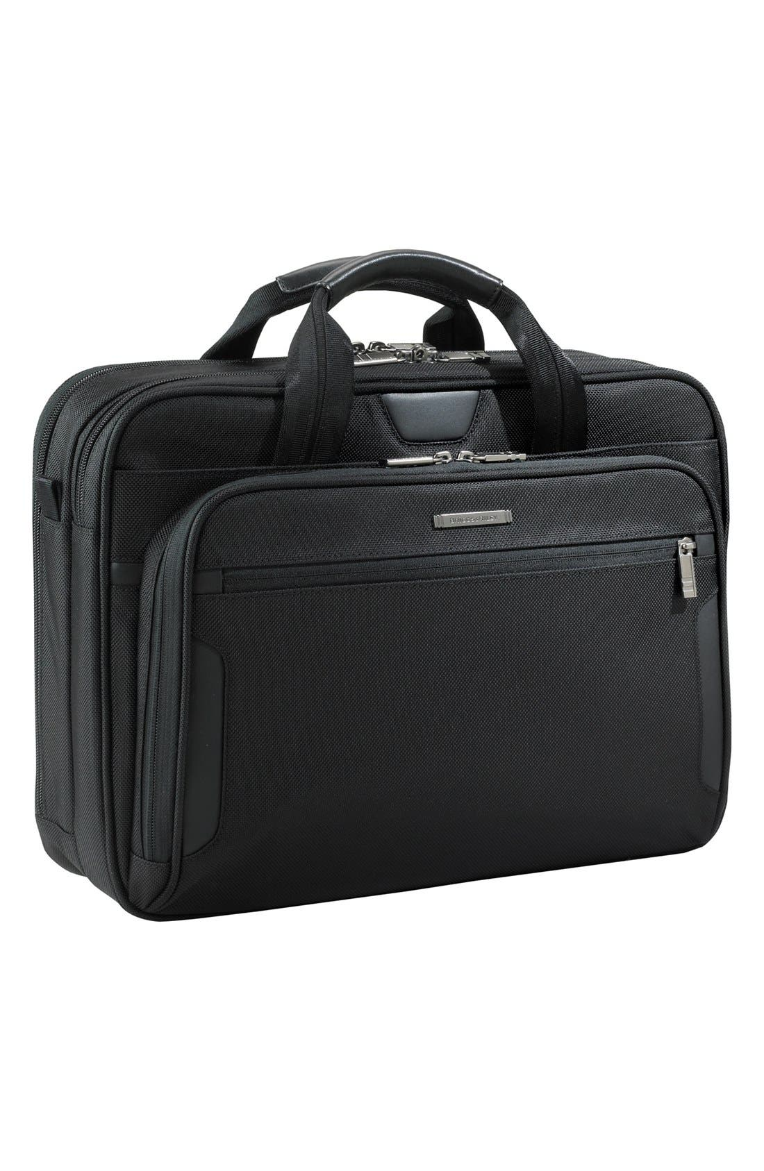 BRIGGS & RILEY Medium Ballistic Nylon Briefcase