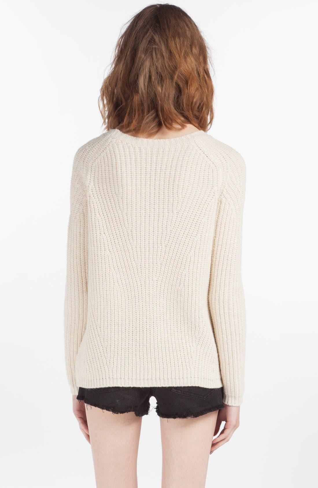 Alternate Image 2  - maje 'Derek' Sweater