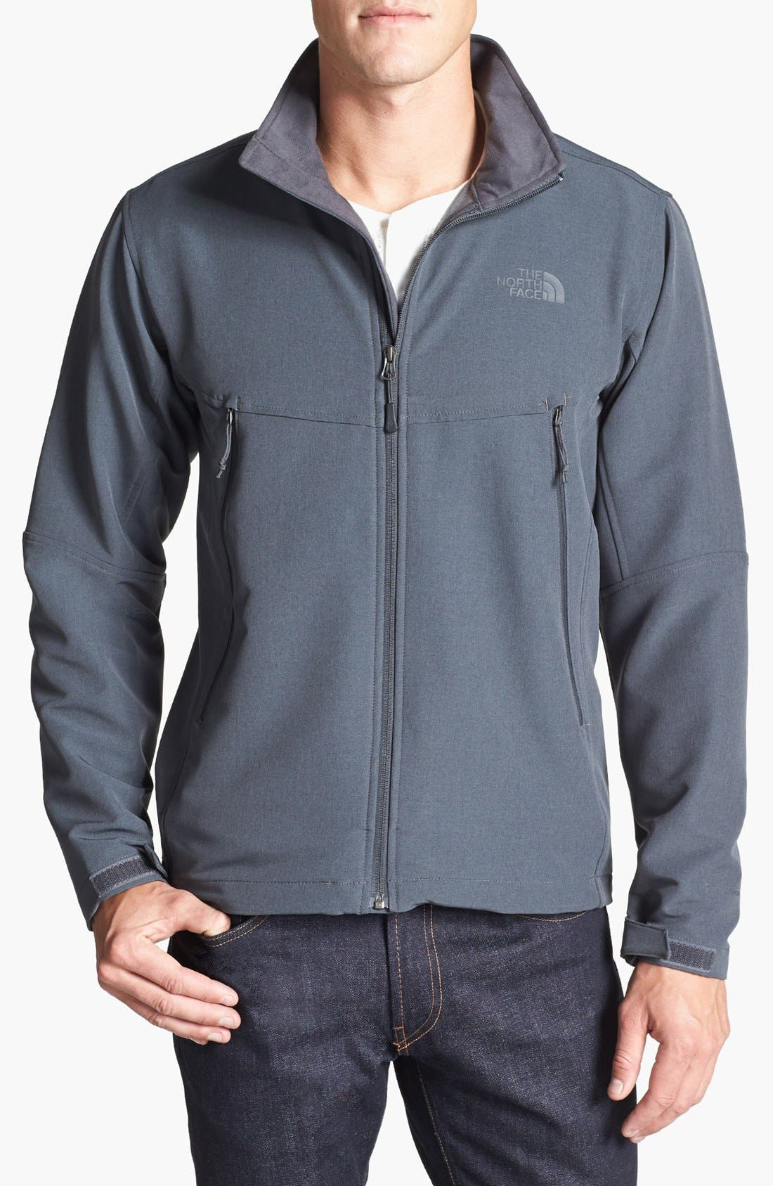 Alternate Image 1 Selected - The North Face 'RDT' FlashDry™ Softshell Jacket
