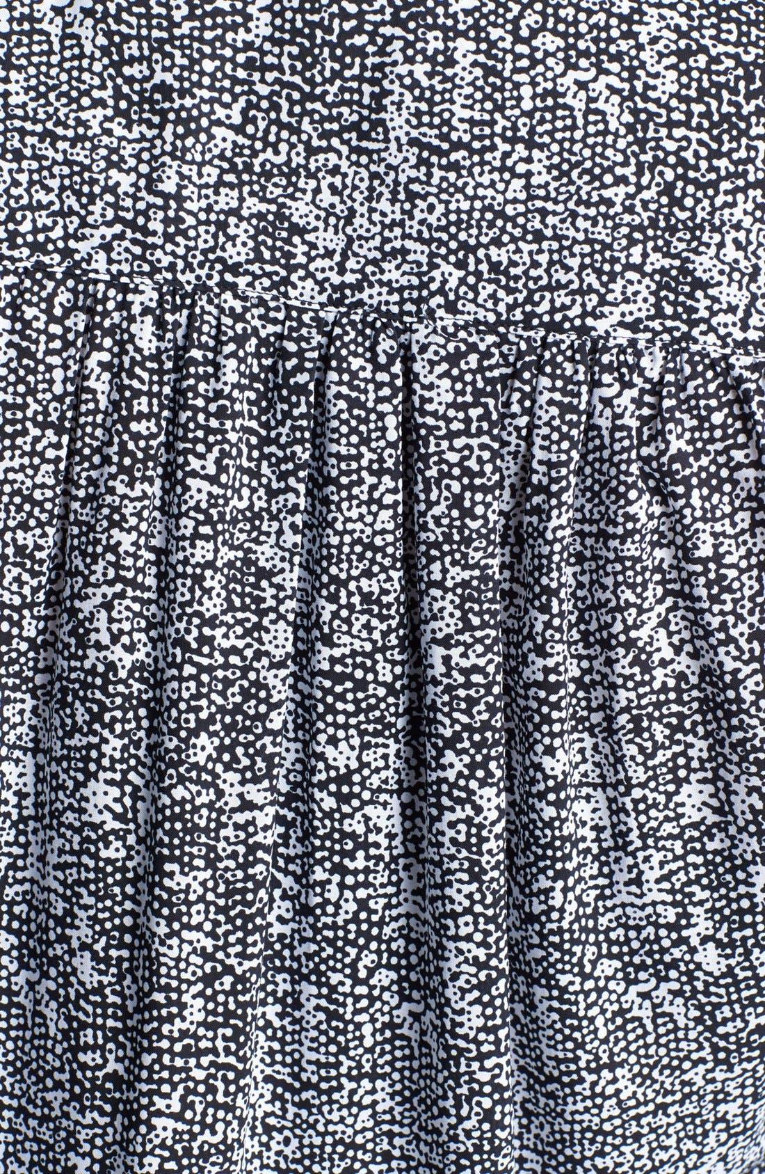 Alternate Image 3  - Foxcroft 'Raining Dots' Shaped Tunic (Plus Size)