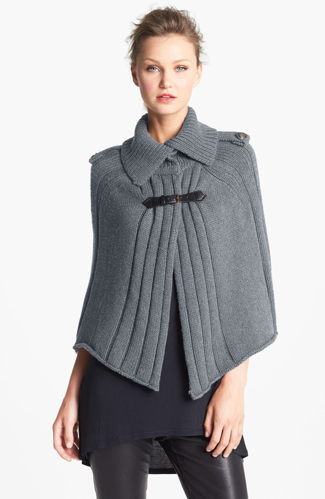 Military Cape,                         Main,                         color, Grey