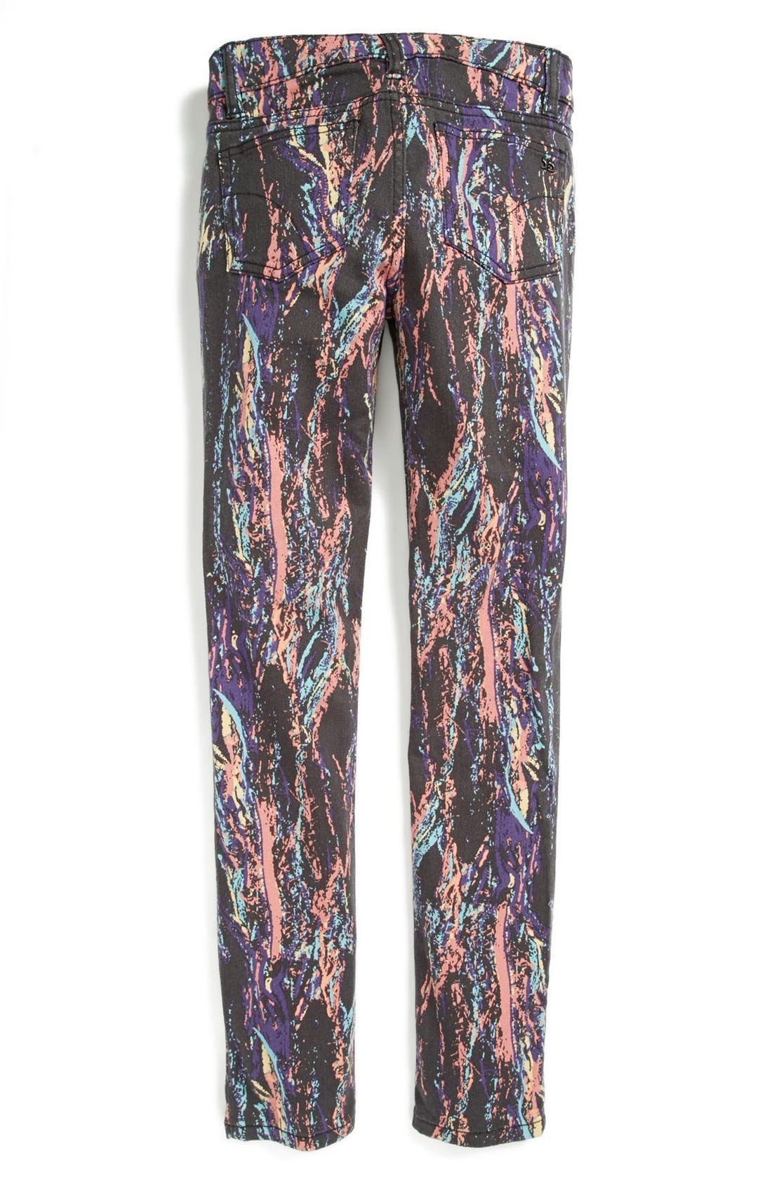 Alternate Image 1 Selected - Joe's 'Paint Splatter' Jeggings (Big Girls)