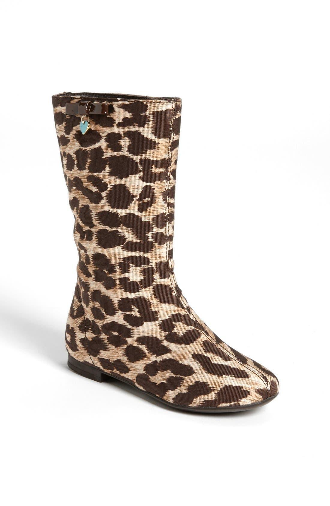 Main Image - Dolce&Gabbana 'Tessuto Leo' Boot (Toddler & Little Kid)