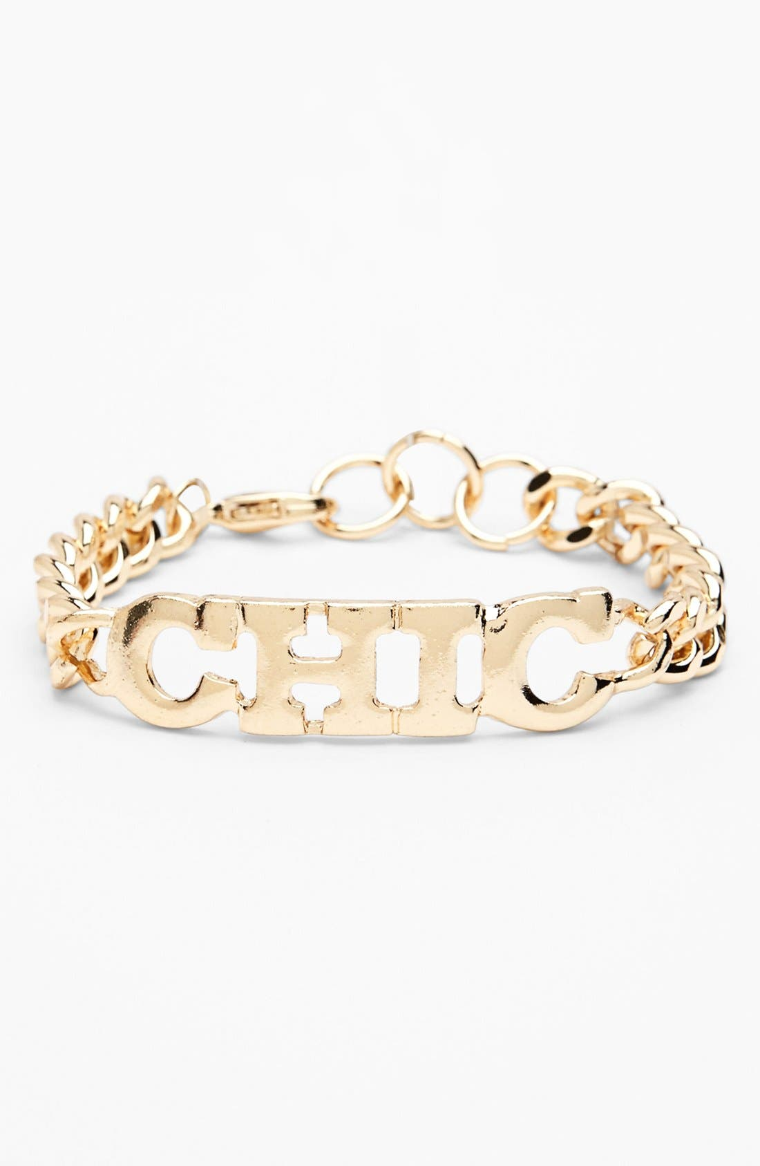 Alternate Image 1 Selected - Devan Chunky Chain Bracelet (Juniors)
