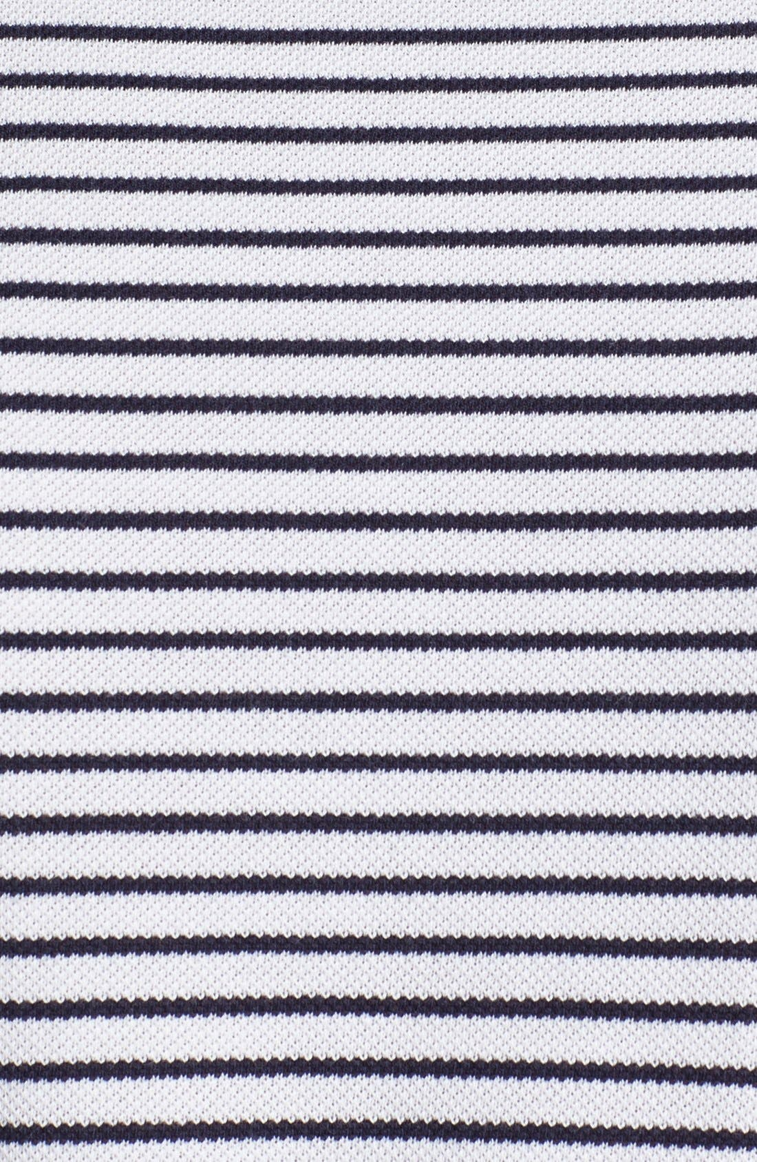 Alternate Image 3  - Lacoste Stripe Double Face Long Sleeve Polo