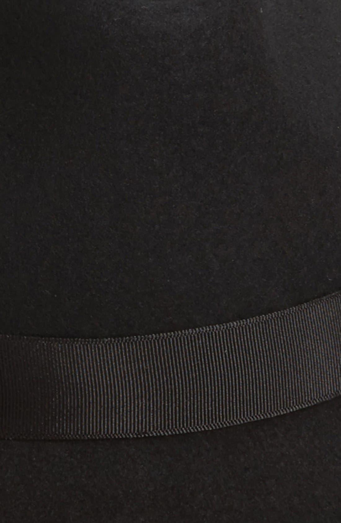 Alternate Image 3  - Nordstrom Wool Felt Trilby Hat