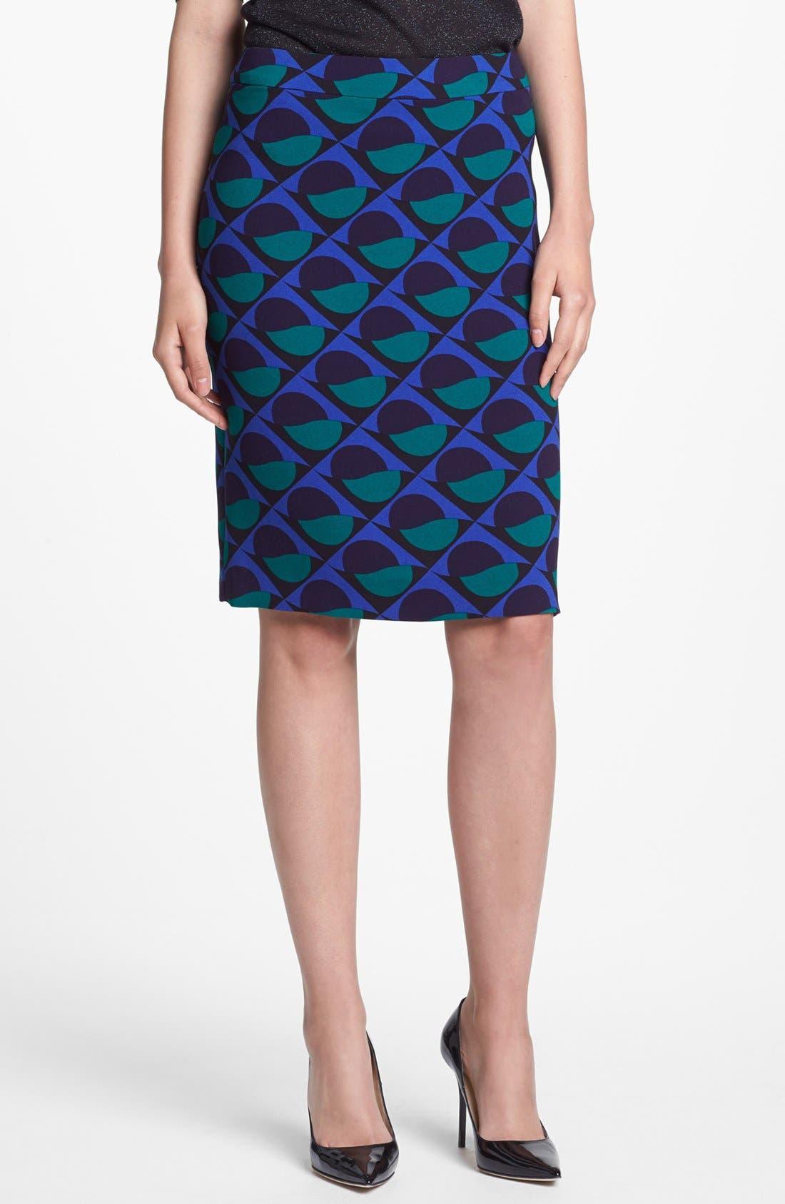 Main Image - MARC BY MARC JACOBS 'Etta' Print Pencil Skirt