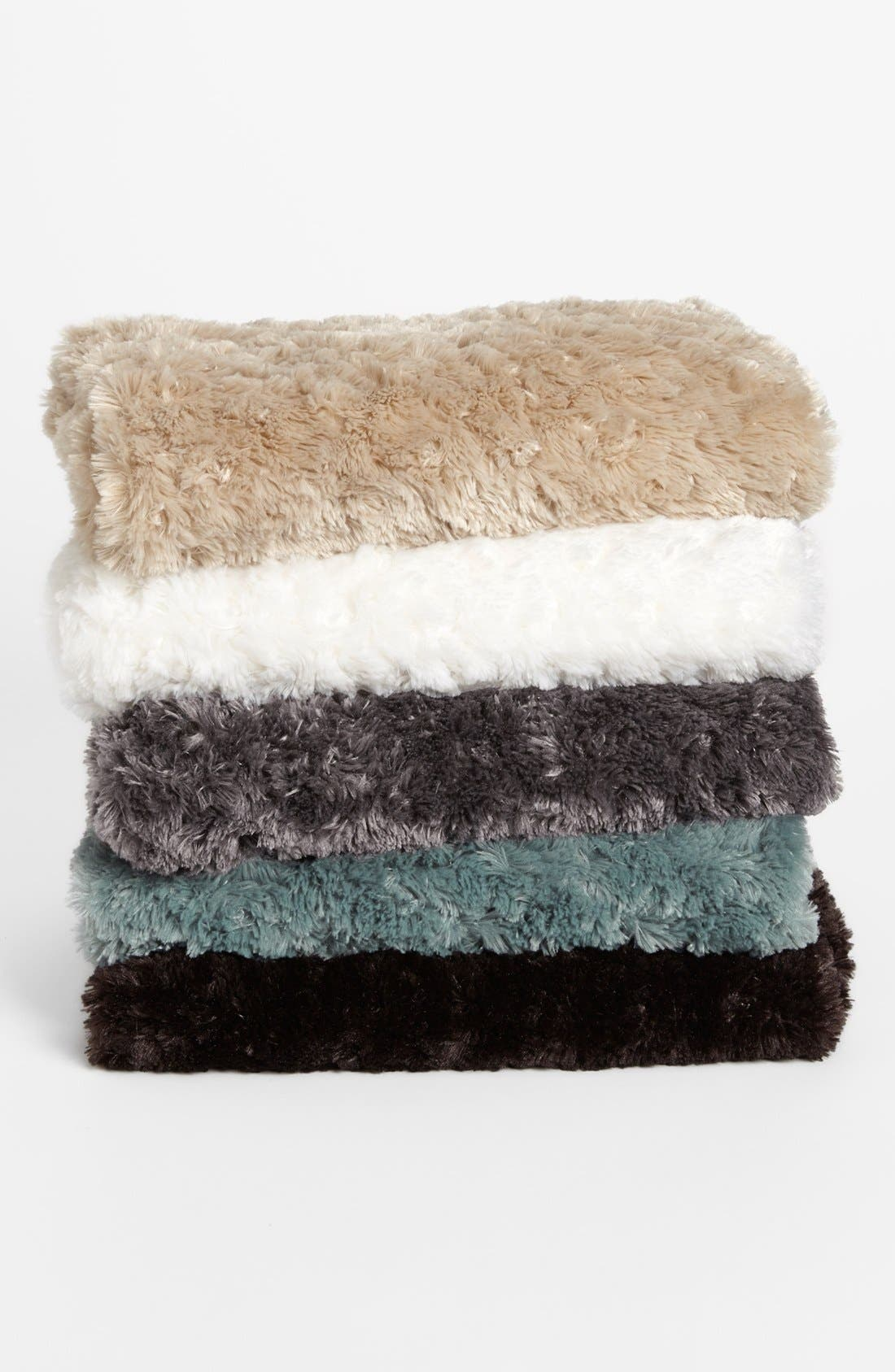 Alternate Image 3  - Nordstrom at Home 'Shaggy' Plush Throw Blanket