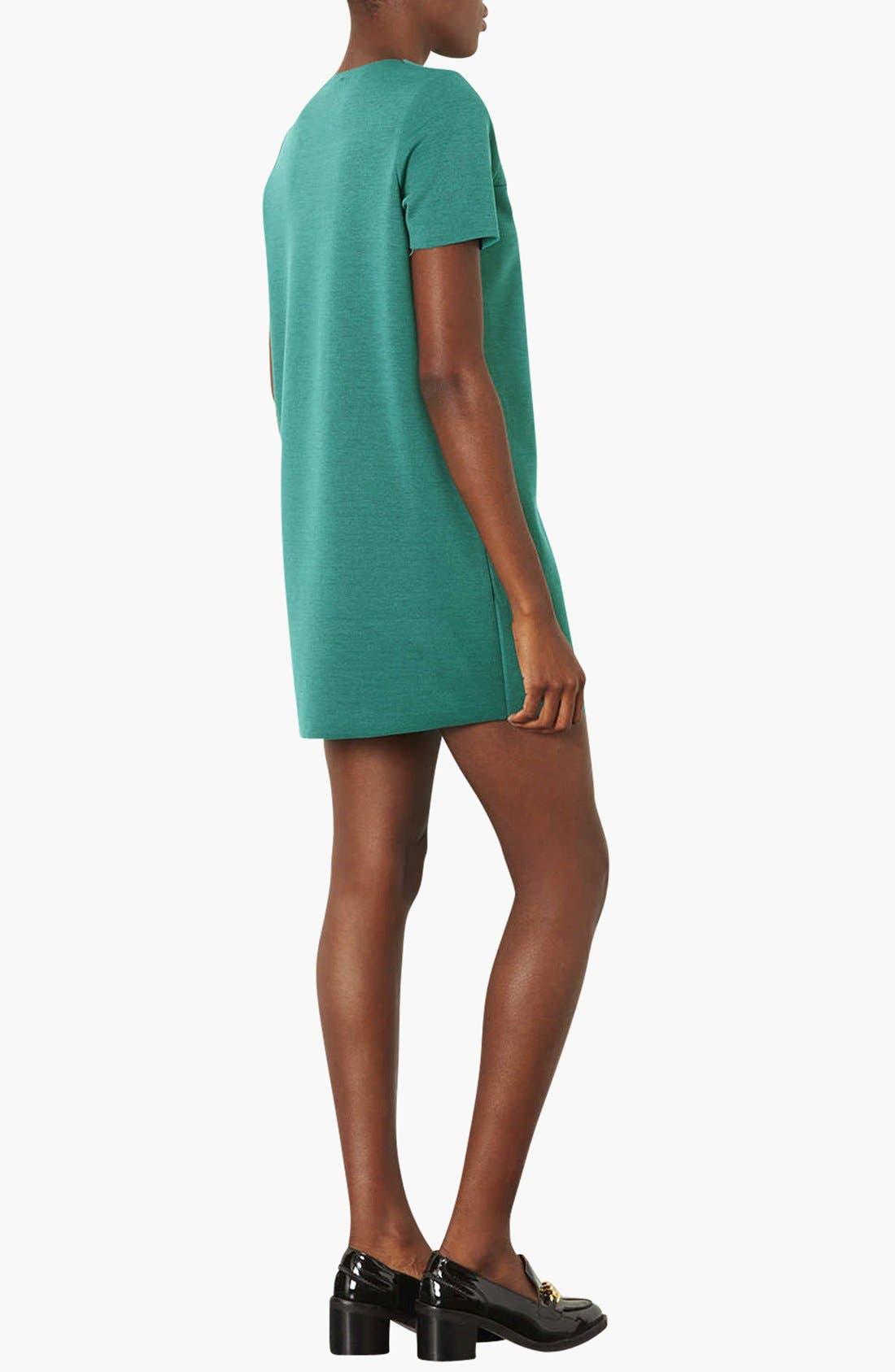 Alternate Image 2  - Topshop Jersey Tunic Dress