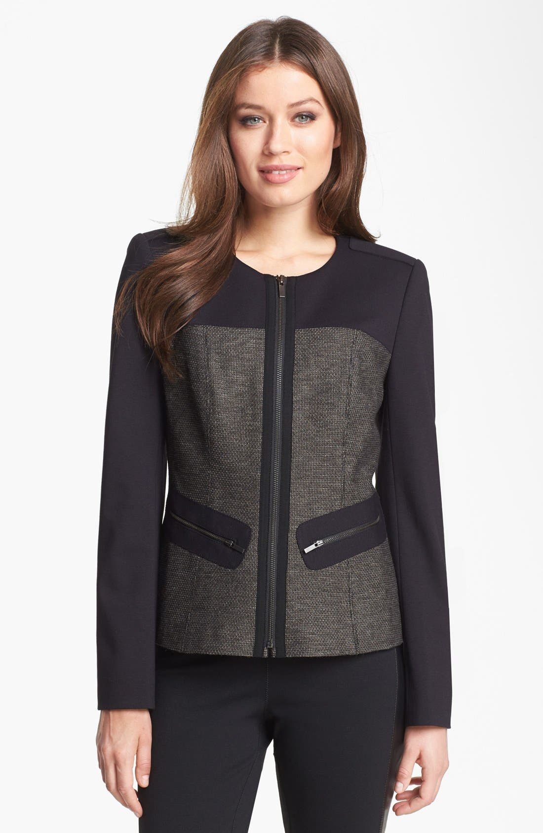 Alternate Image 1 Selected - Classiques Entier® 'Crystal Weave' Jacket