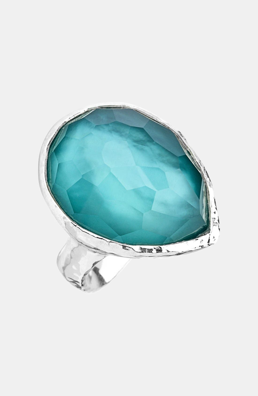 Alternate Image 1 Selected - Ippolita 'Wonderland - Rainbow' Large Teardrop Ring
