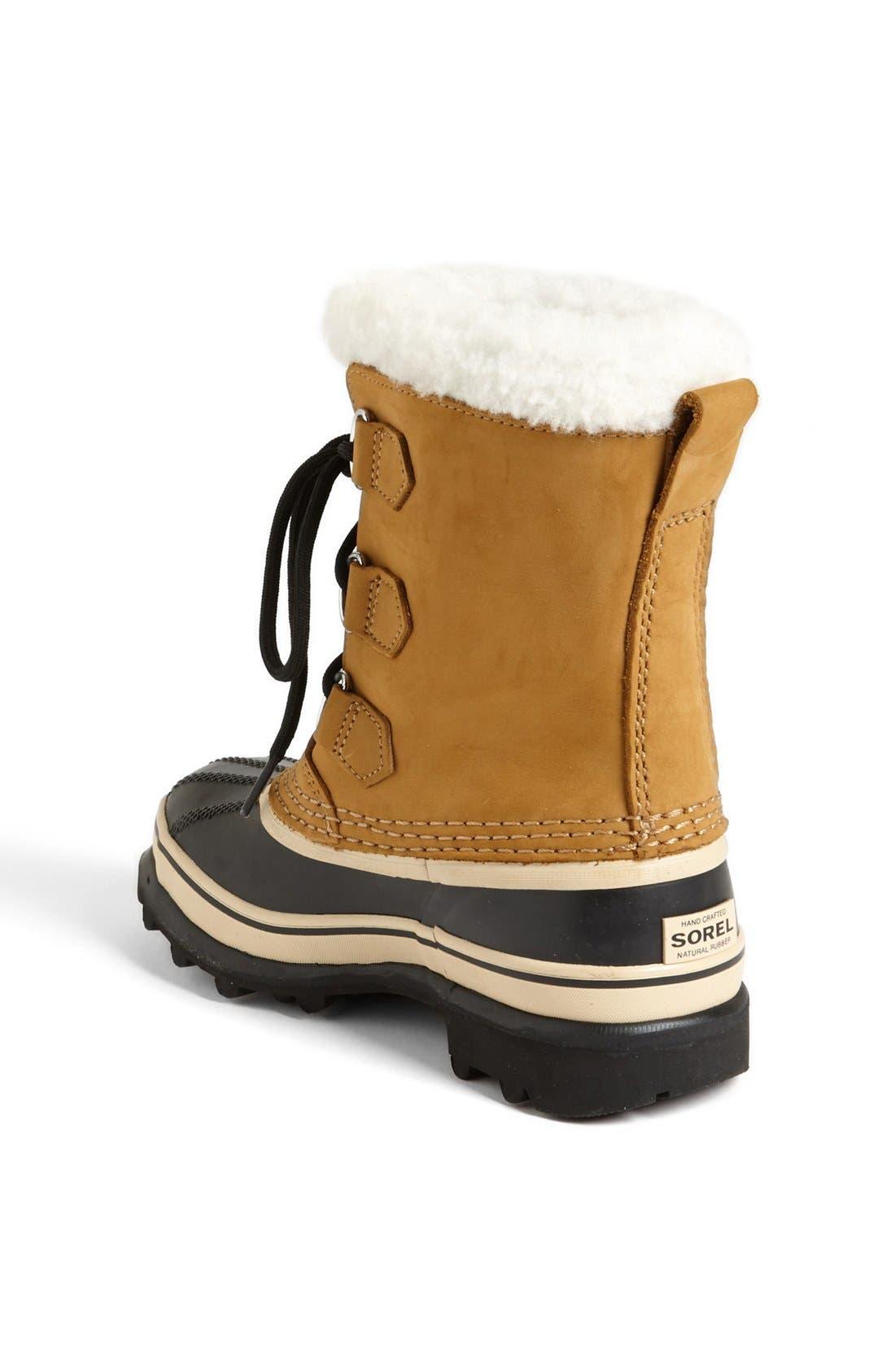 Alternate Image 2  - SOREL Caribou Waterproof Boot (Little Kid & Big Kid)