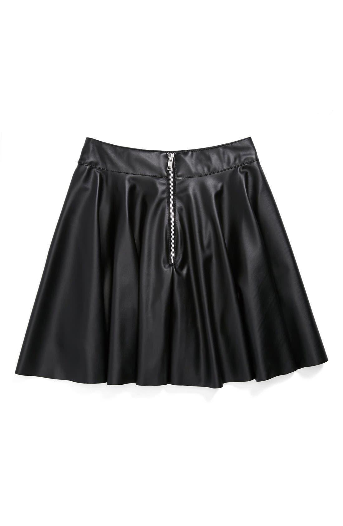 Alternate Image 2  - Un Deux Trois 'Flirt' Skirt (Big Girls)