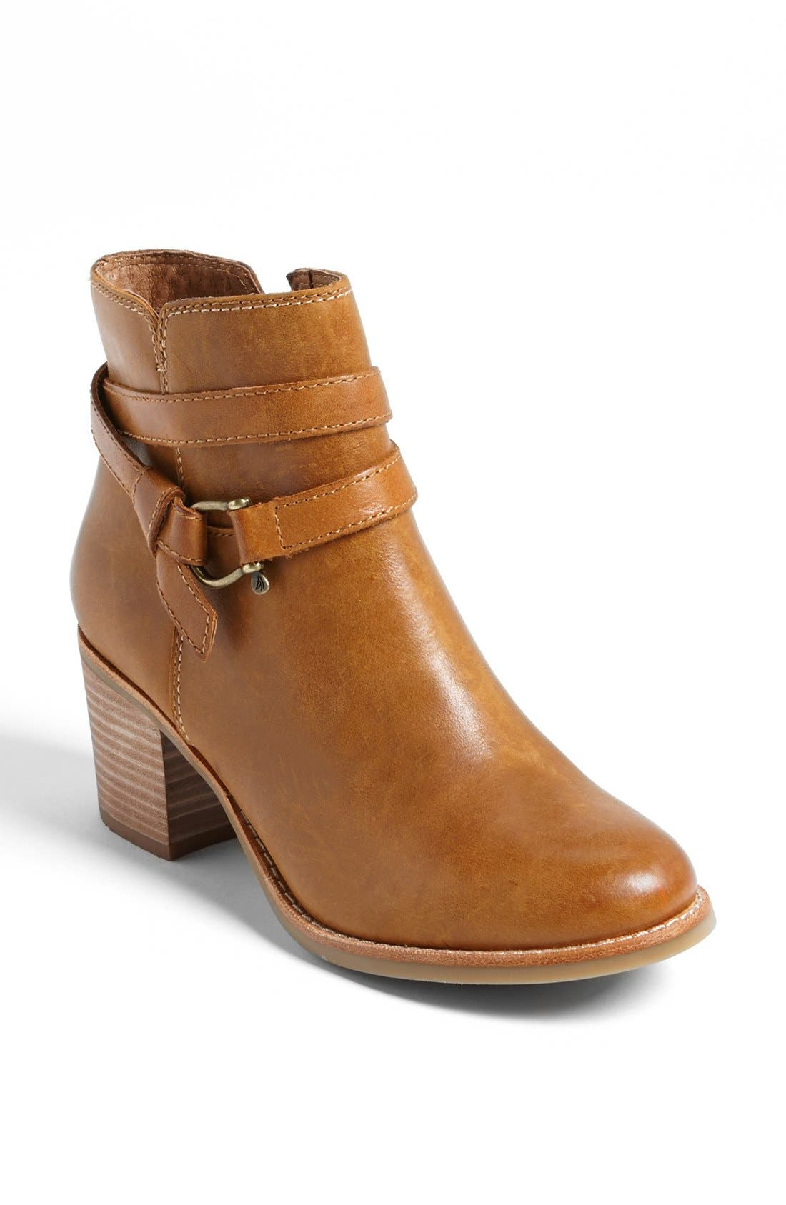 Top-Sider<sup>®</sup> 'Chelton' Bootie,                             Main thumbnail 1, color,                             Tan