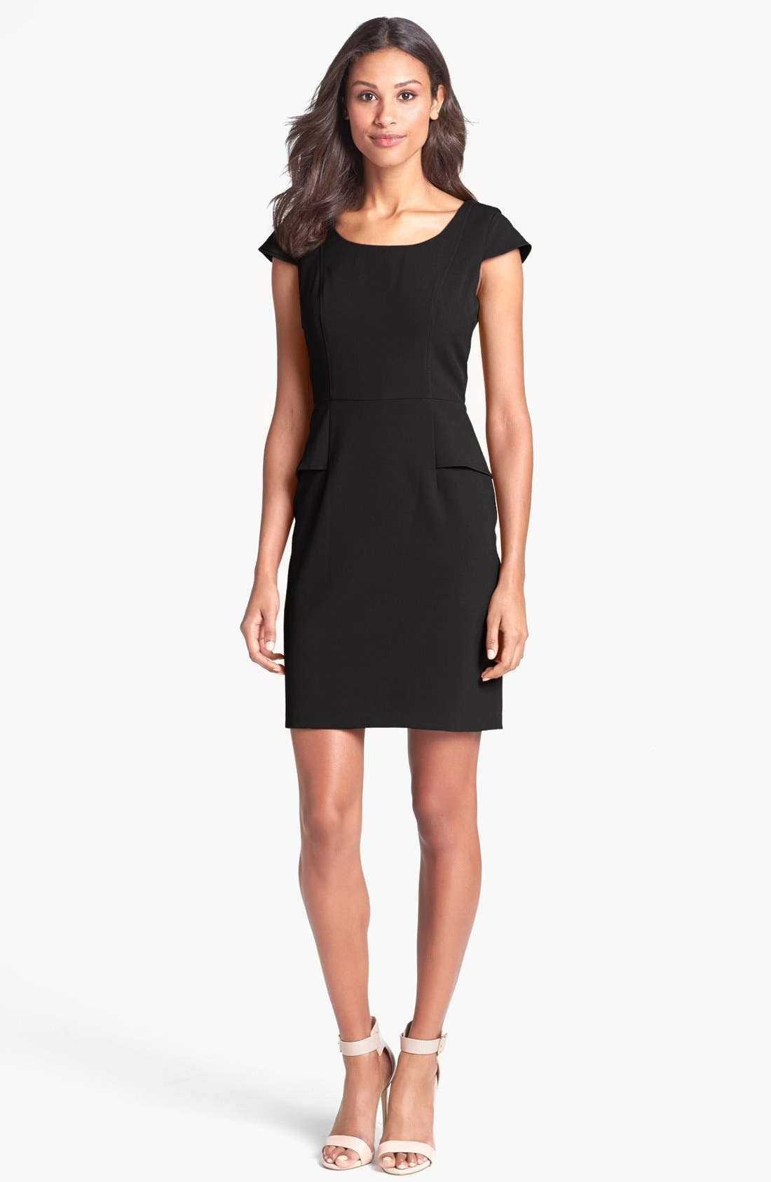 Main Image - Marc New York by Andrew Marc Peplum Sheath Dress