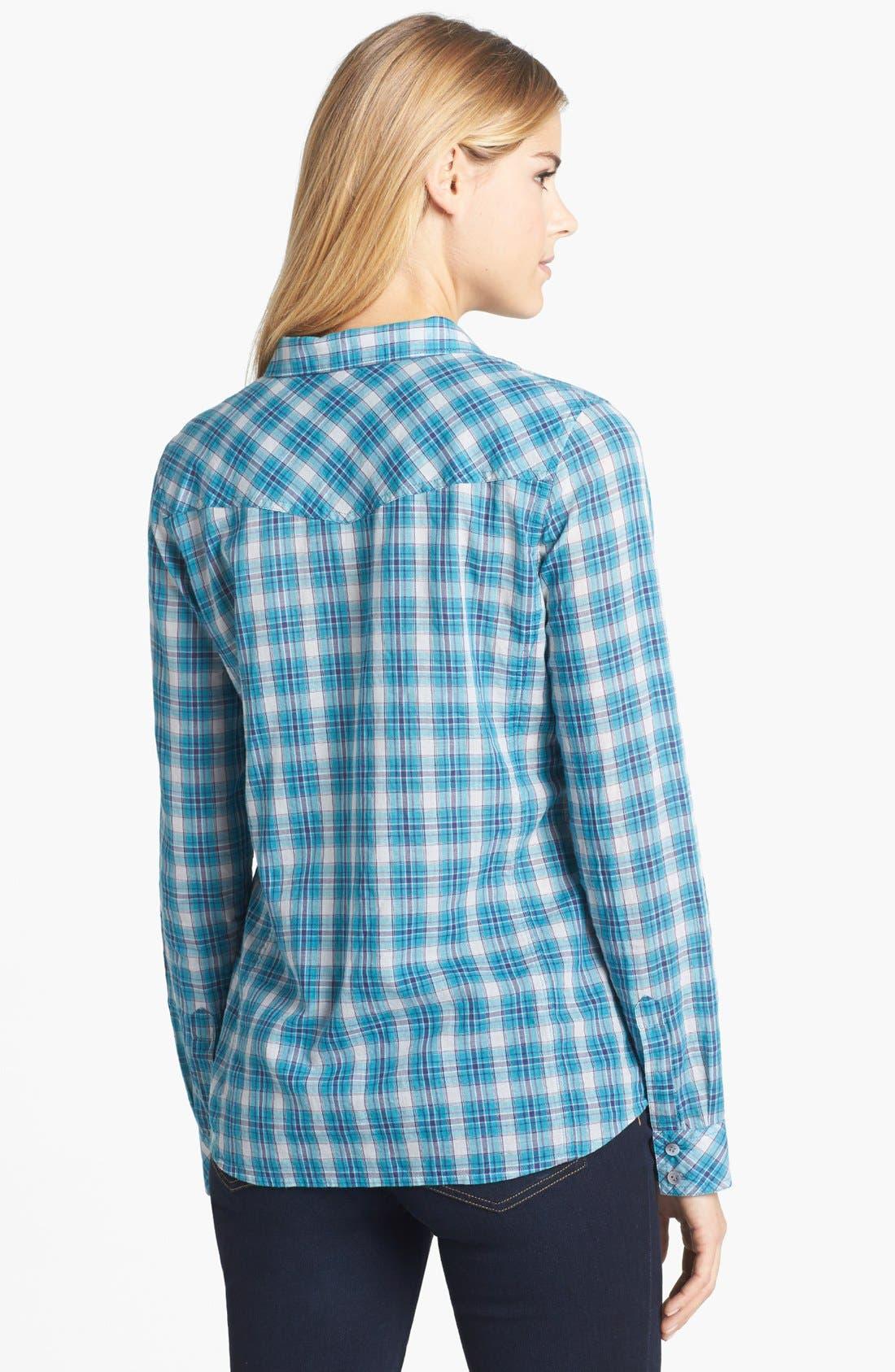 Alternate Image 2  - Caslon® Two Pocket Shirt (Regular & Petite)