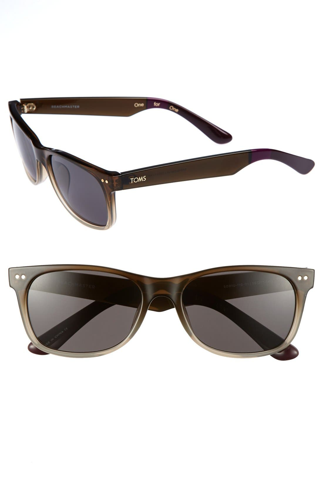 Alternate Image 1 Selected - Tory Burch 56mm Polarized Sunglasses