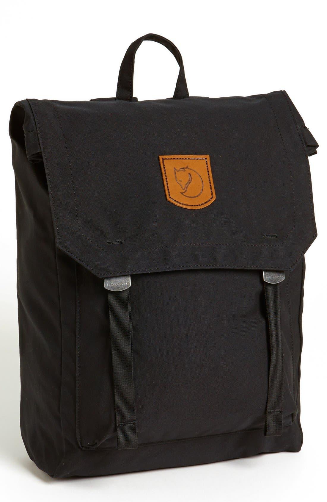 'Foldsack No. 1' Backpack,                             Main thumbnail 1, color,                             Black