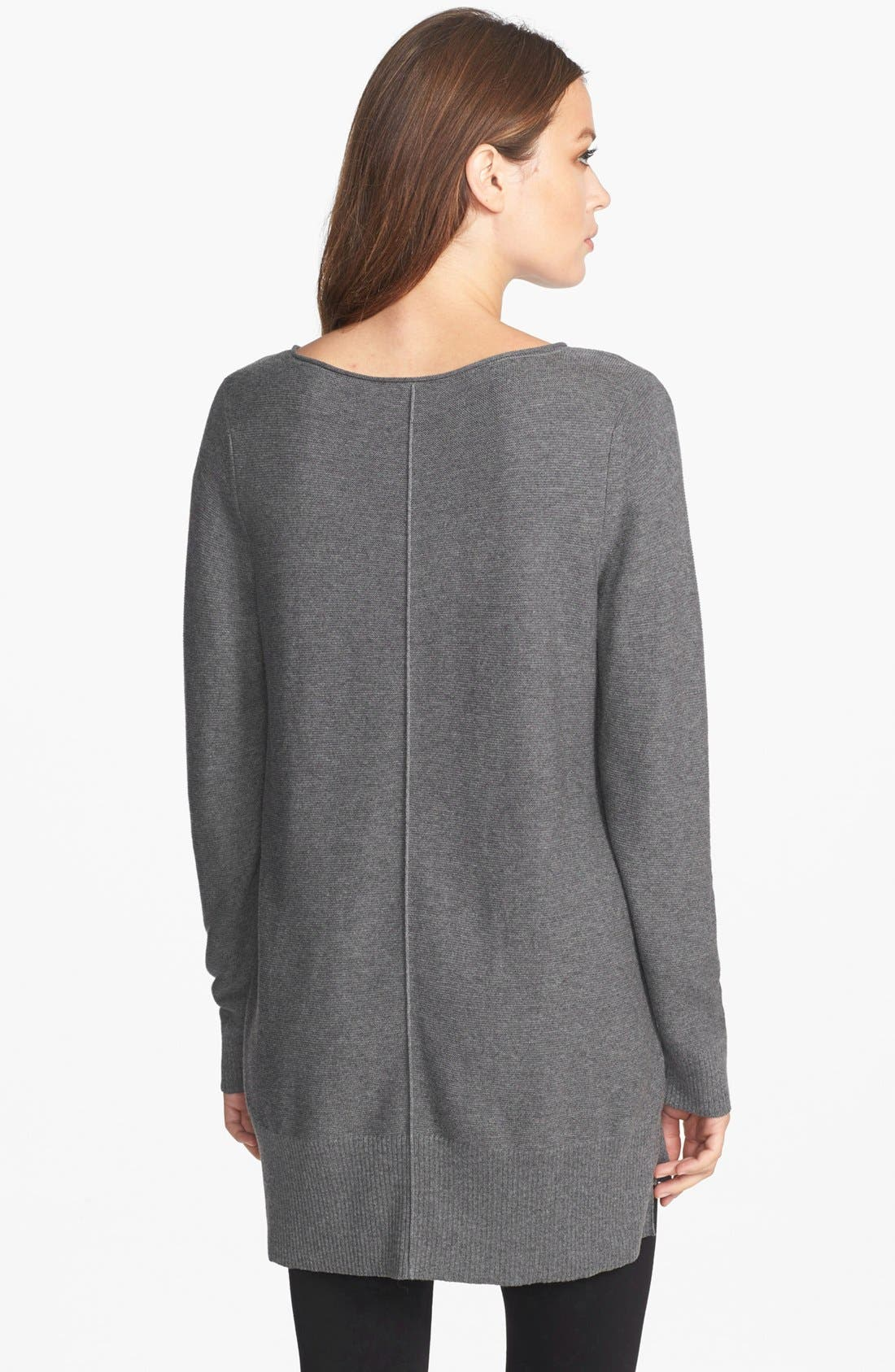 Alternate Image 2  - Eileen Fisher Organic Cotton Bateau Neck Top
