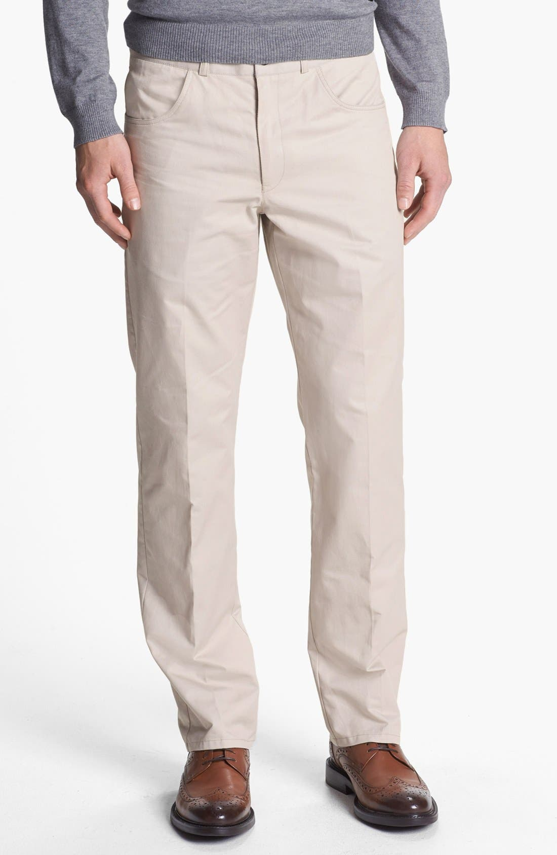 Alternate Image 1 Selected - Vince Camuto Slim Fit Chinos