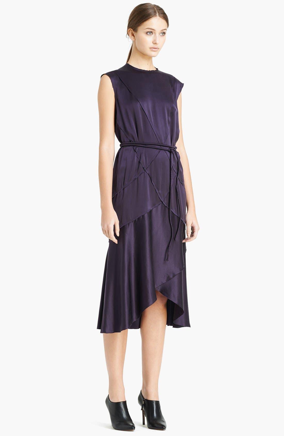 Alternate Image 1 Selected - Lanvin Sleeveless Satin Dress