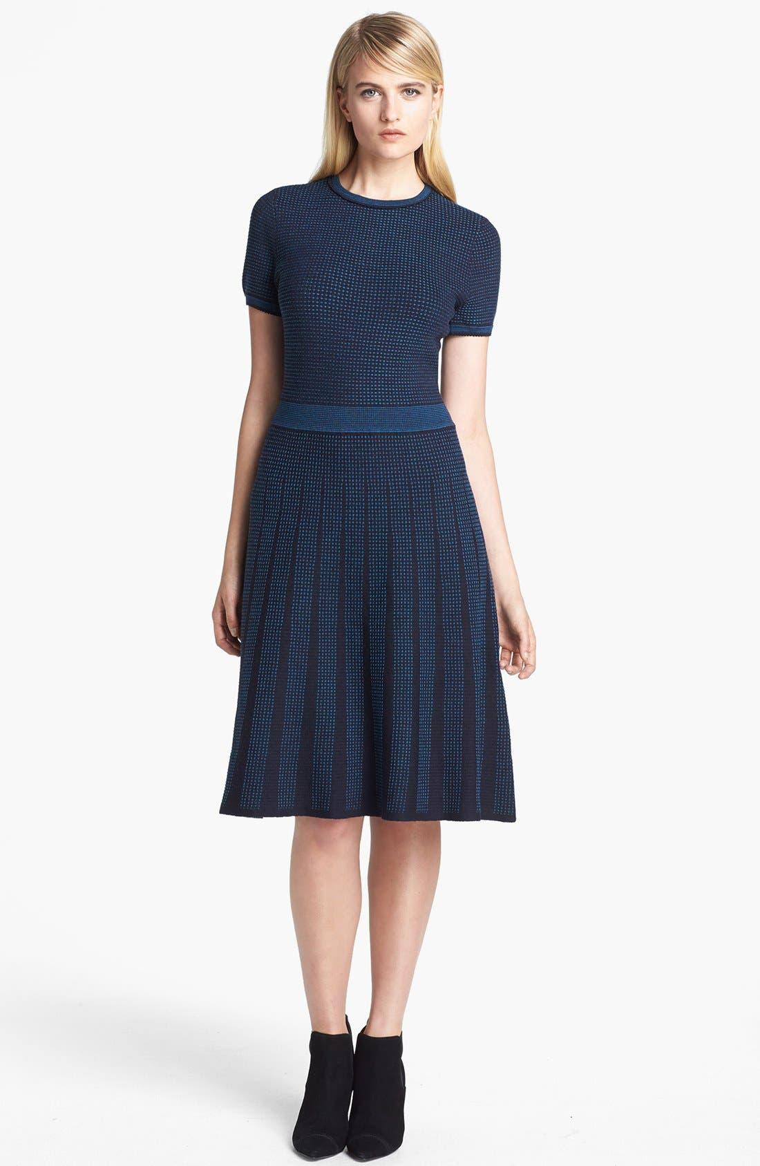 Alternate Image 1 Selected - Tory Burch 'Sadie' Wool Blend A-Line Dress
