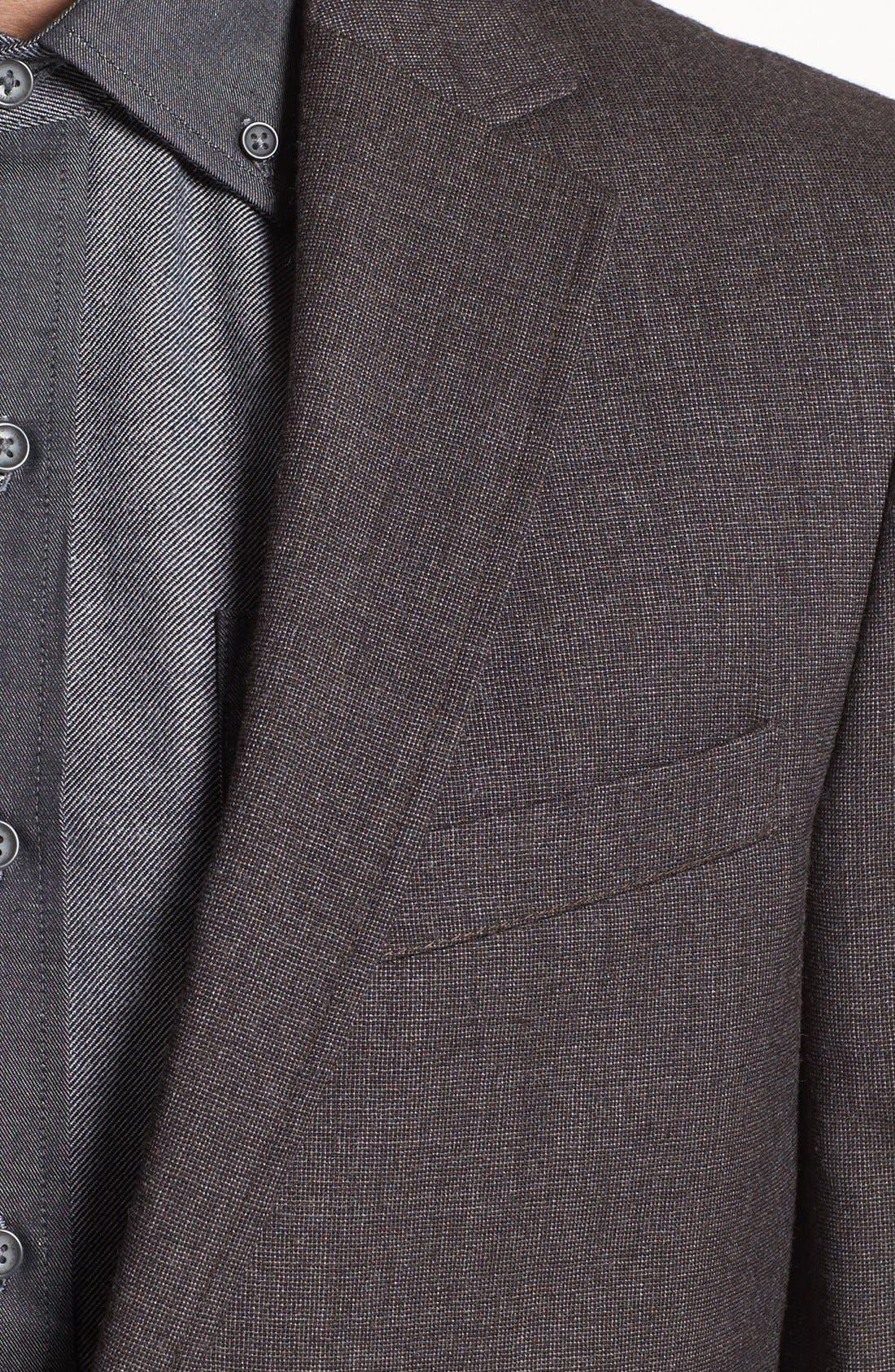 Alternate Image 3  - Vince Camuto Slim Fit Wool Sportcoat