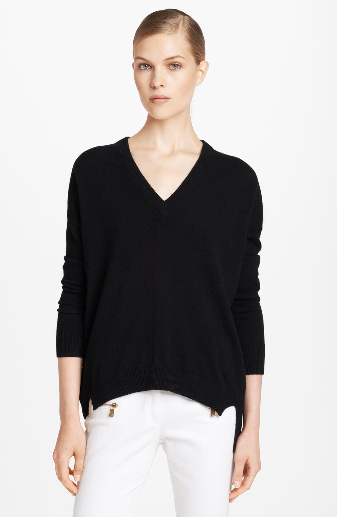 Alternate Image 1 Selected - Michael Kors Cashmere Knit Tunic