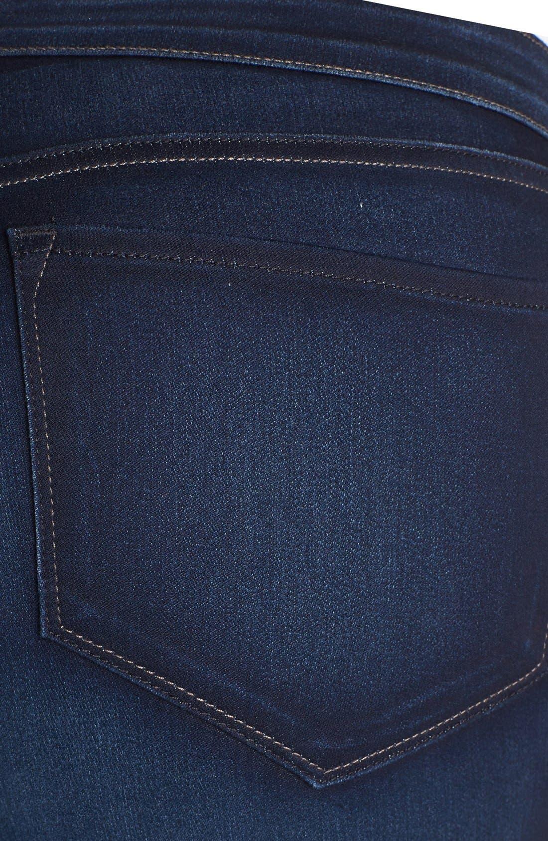 Alternate Image 3  - NYDJ 'Jaclyn' Stretch Skinny Jeans (Pasadena) (Plus Size)
