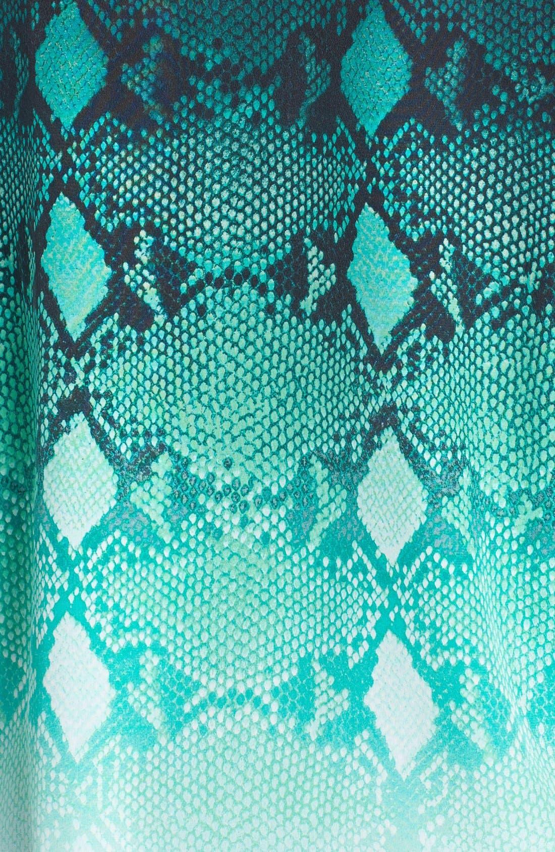 Alternate Image 3  - Equipment 'Slim Signature' Ombré Print Silk Shirt