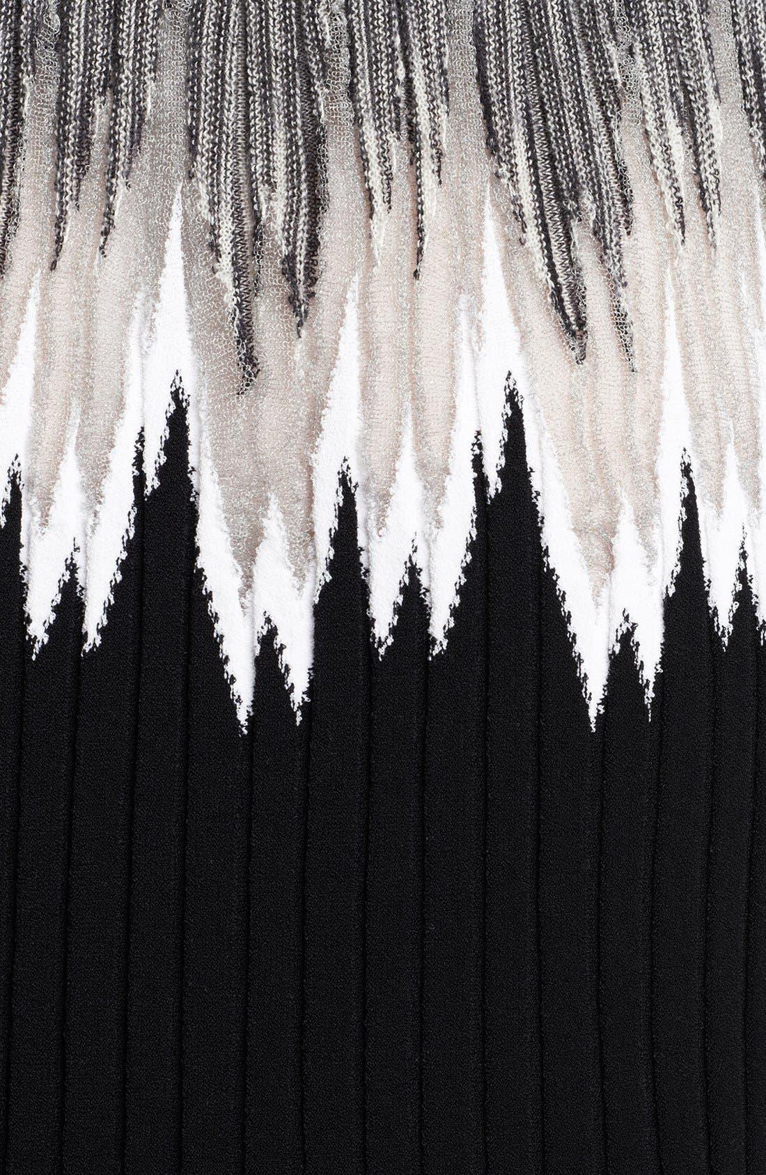 Alternate Image 3  - Missoni Intarsia Knit Plissé Dress