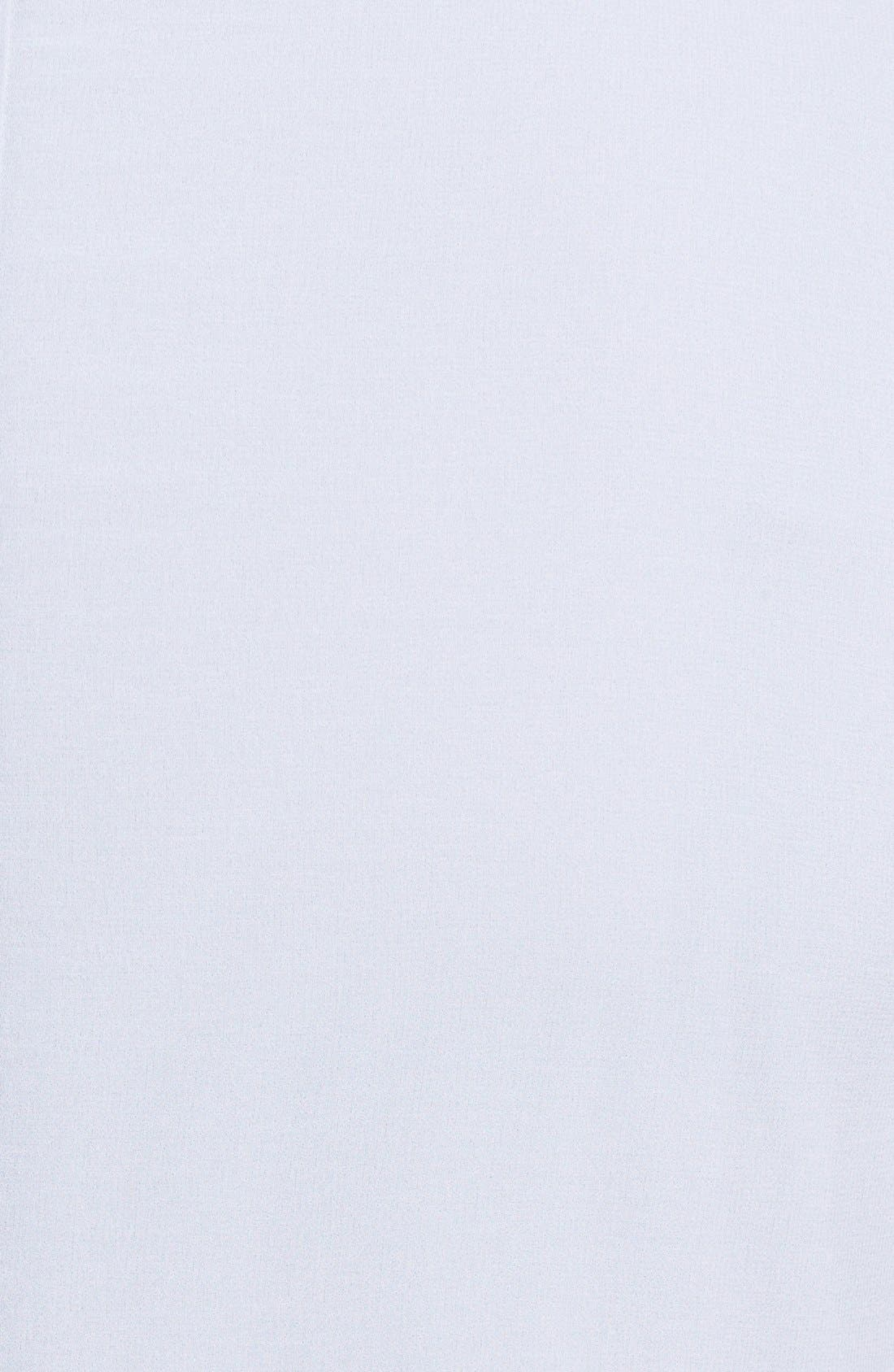 Alternate Image 3  - Evans Embellished Cuff Chiffon Blouse (Plus Size)