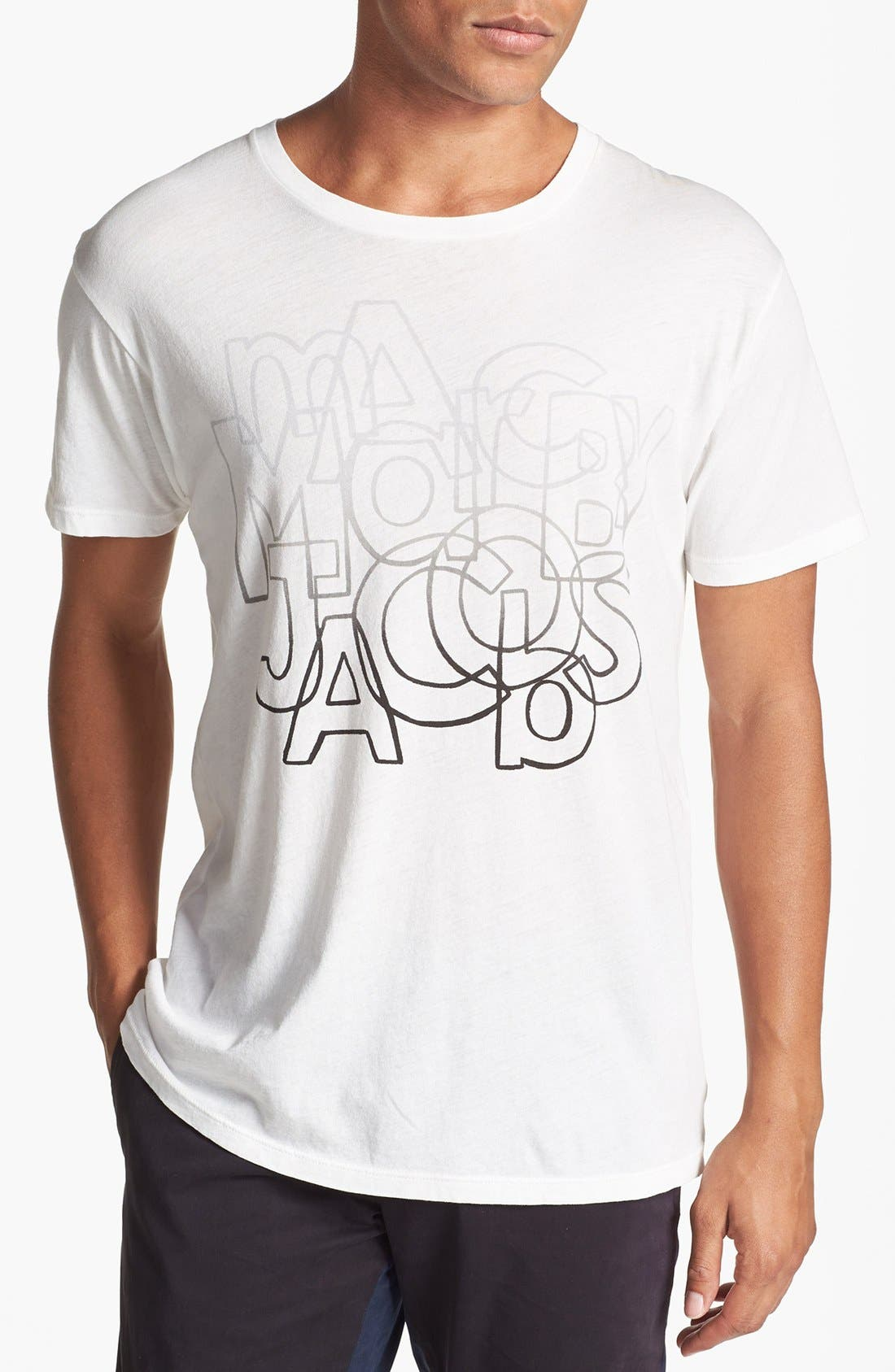 Alternate Image 1 Selected - MARC BY MARC JACOBS 'Faded Font' T-Shirt