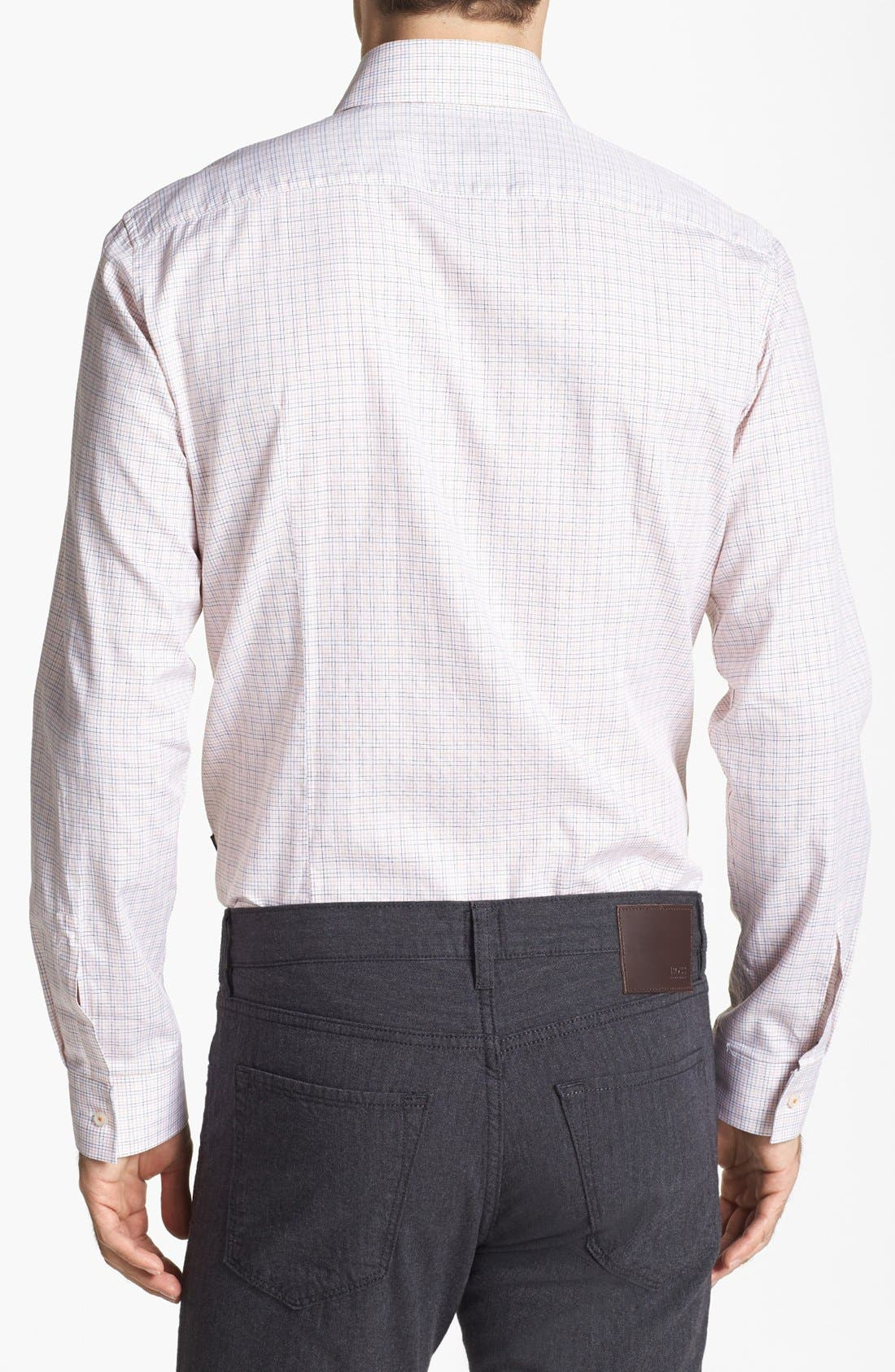 Alternate Image 2  - BOSS HUGO BOSS 'Mason' Regular Fit Sport Shirt