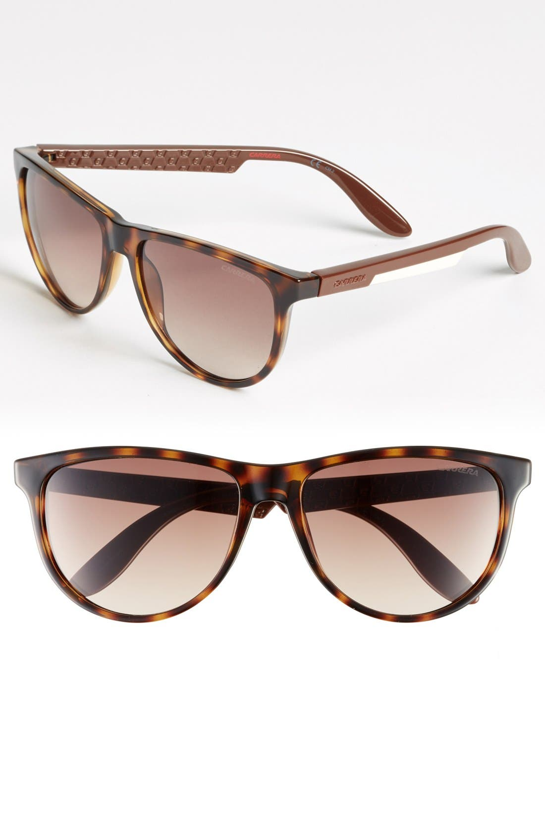 Alternate Image 1 Selected - Carrera Eyewear 56mm Retro Sunglasses