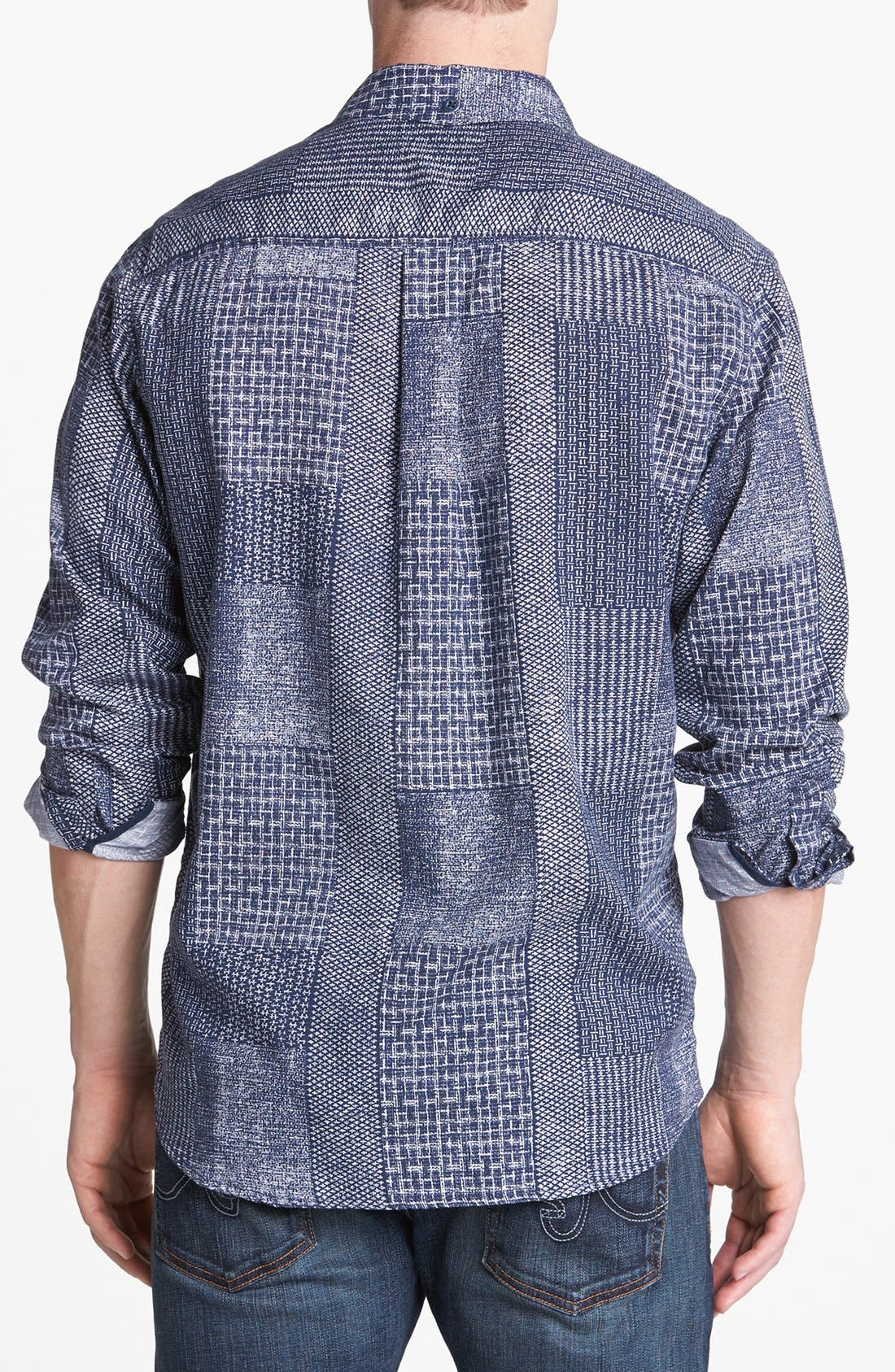 Alternate Image 2  - Tommy Bahama Denim 'Indigo Crush' Island Modern Fit Sport Shirt