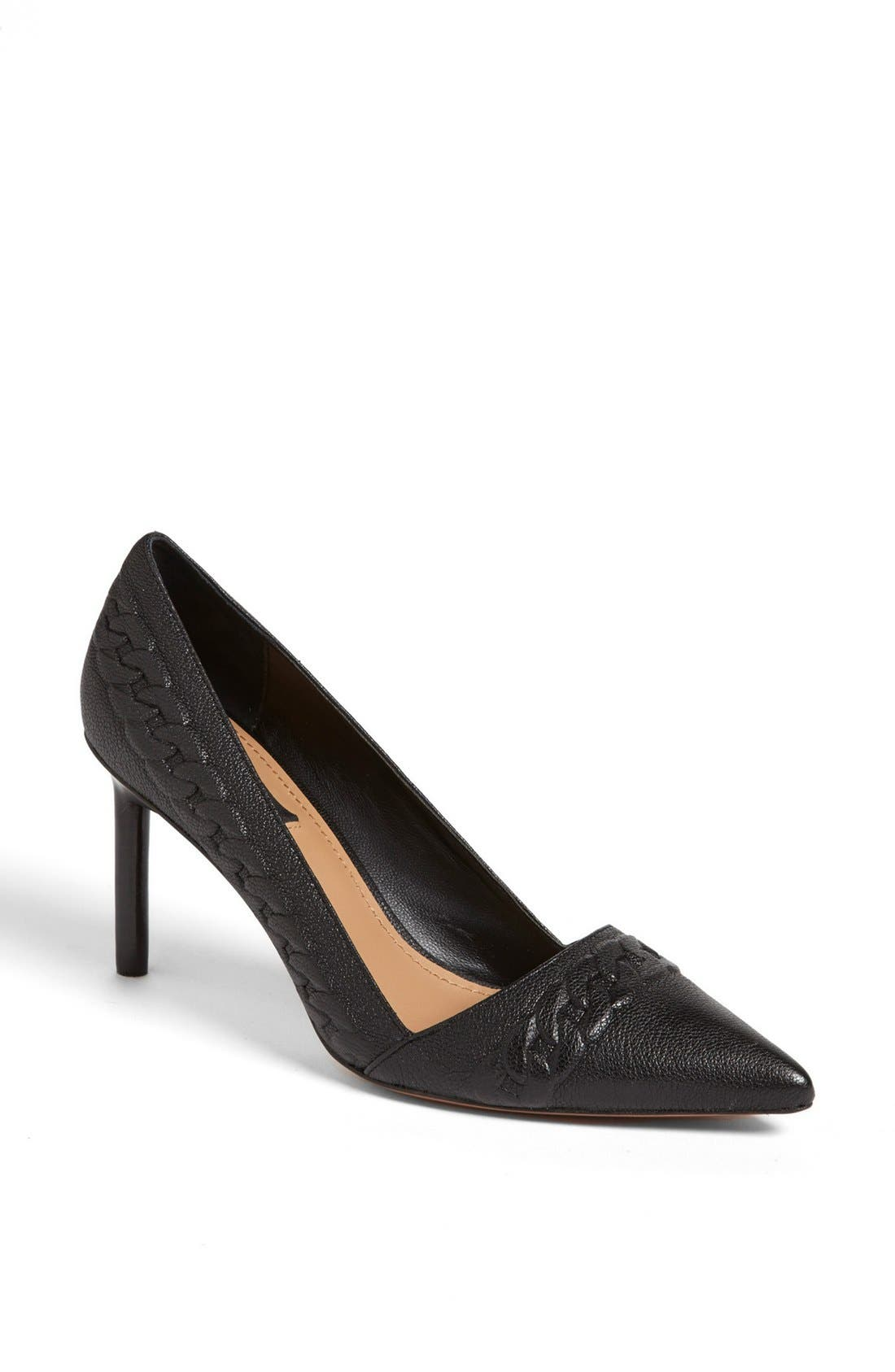 Alternate Image 1 Selected - Rachel Zoe 'Kenley' Leather Pump