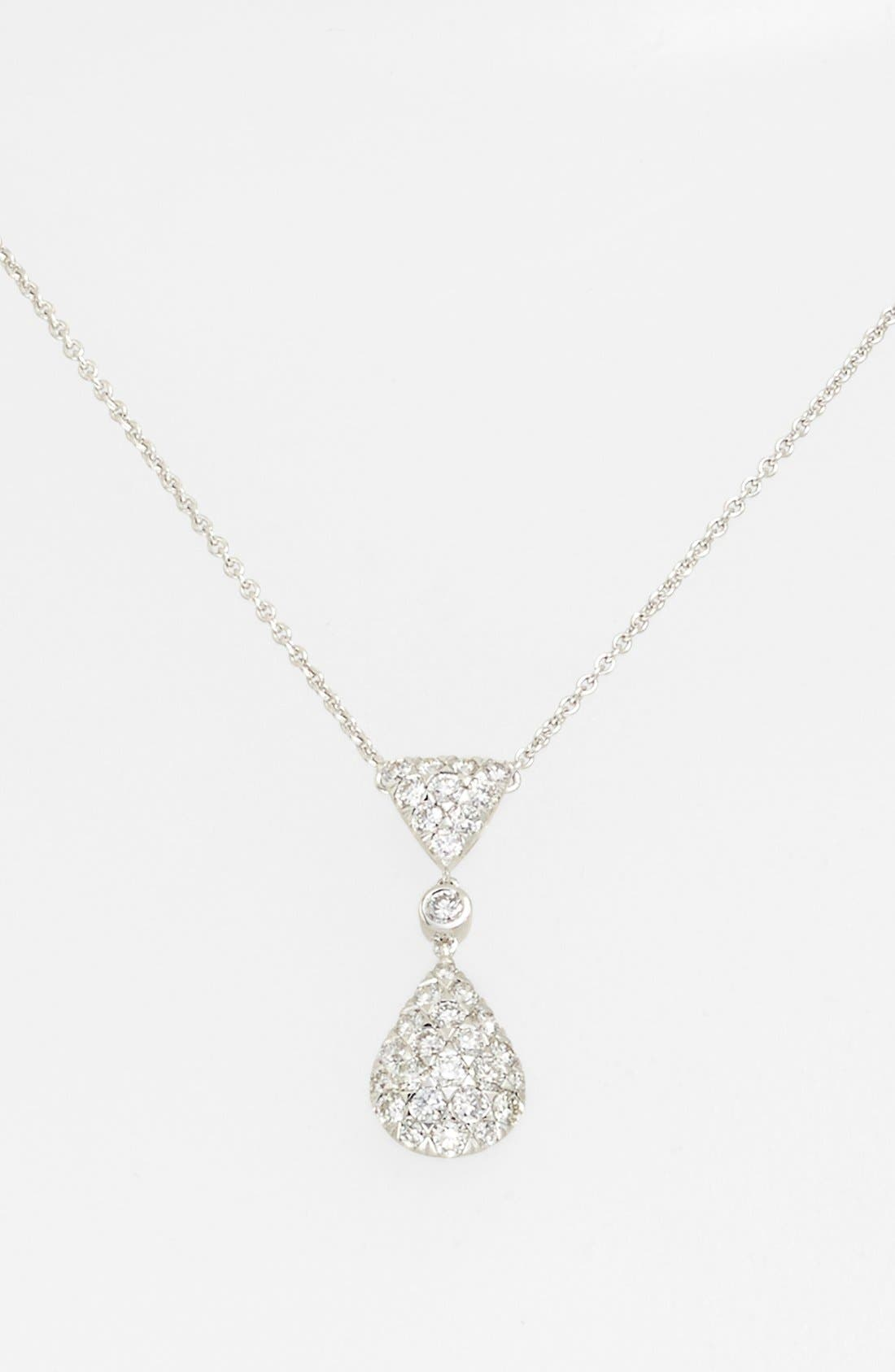 Alternate Image 2  - Kwiat 'Moonrise' Diamond Pendant Necklace
