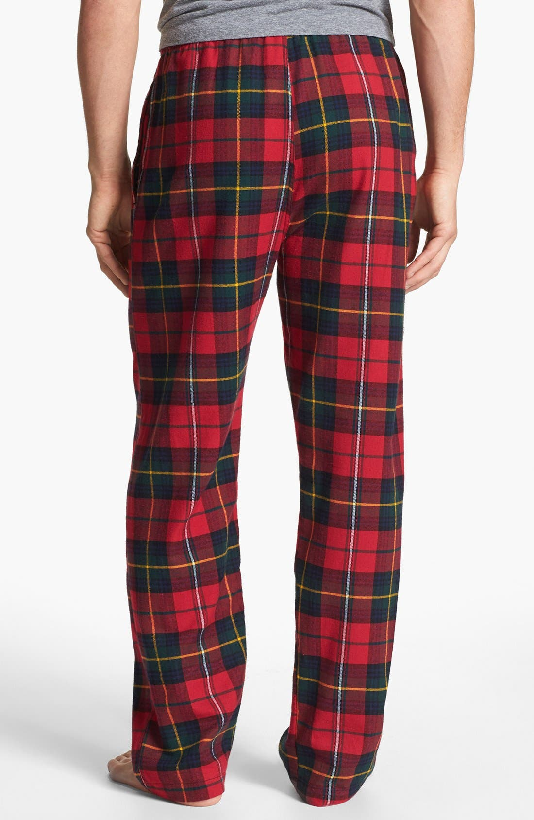 Alternate Image 2  - Polo Ralph Lauren Flannel Lounge Pants