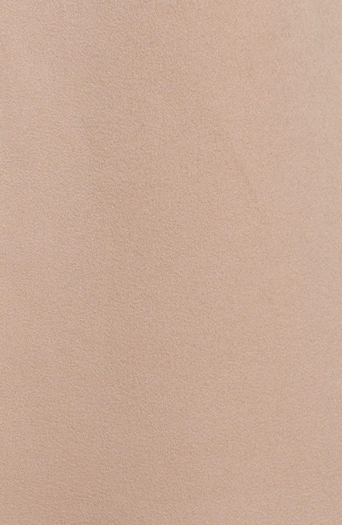 Alternate Image 2  - Fleurette Stand Collar Cashmere Coat