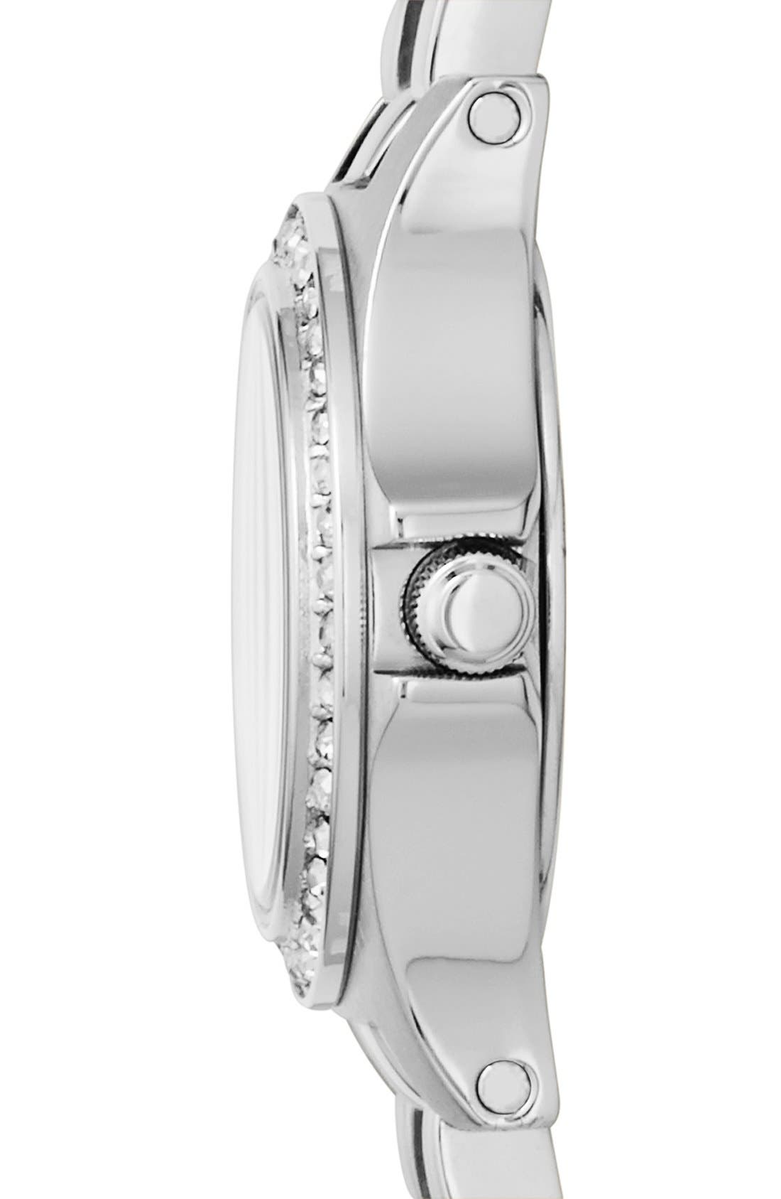 Alternate Image 3  - MARC JACOBS 'Henry Dinky' Crystal Bracelet Watch, 21mm